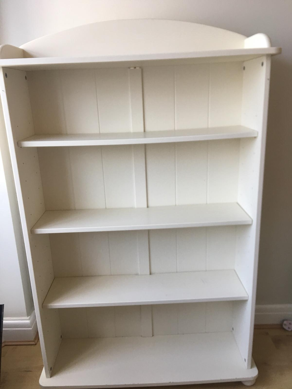 Aspace Antique White Painted Bookcase In L17 Liverpool For