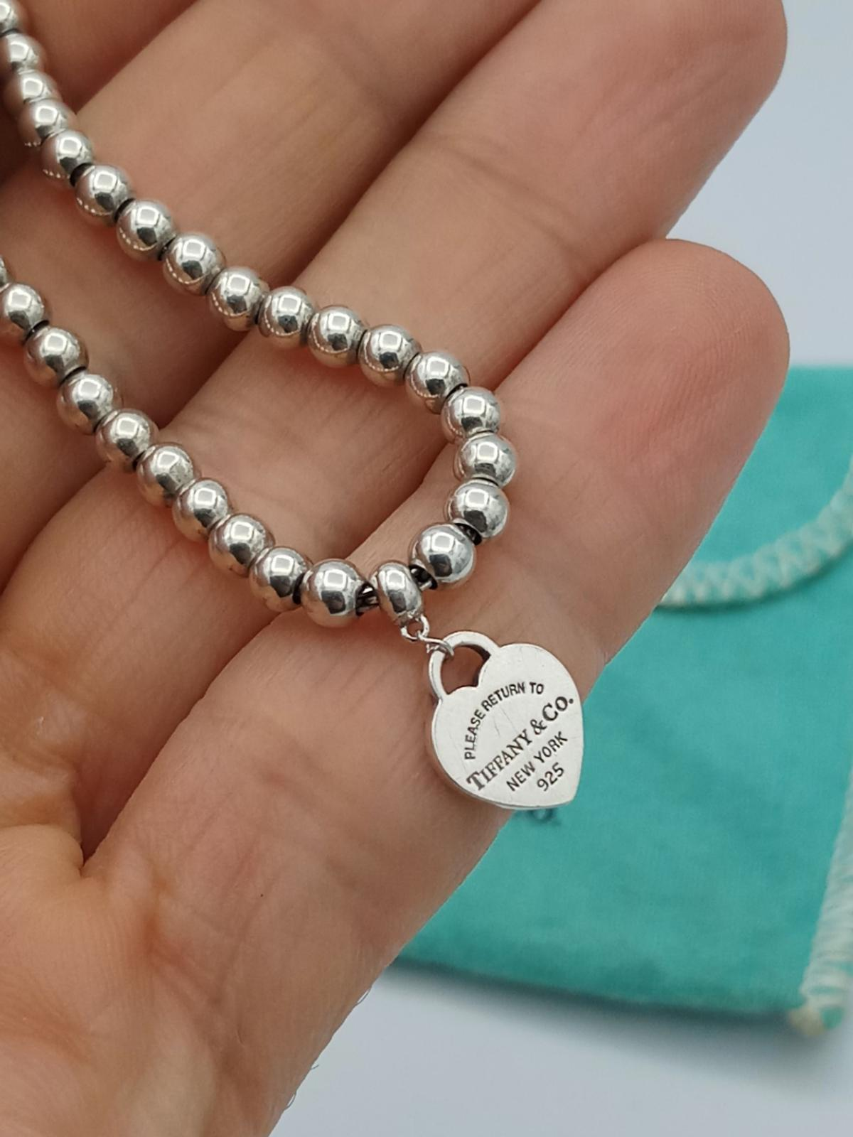 cce110bed5093 Genuine Tiffany & Co Bead Heart Tag Bracelet in NE5 Tyne for £105.00 ...