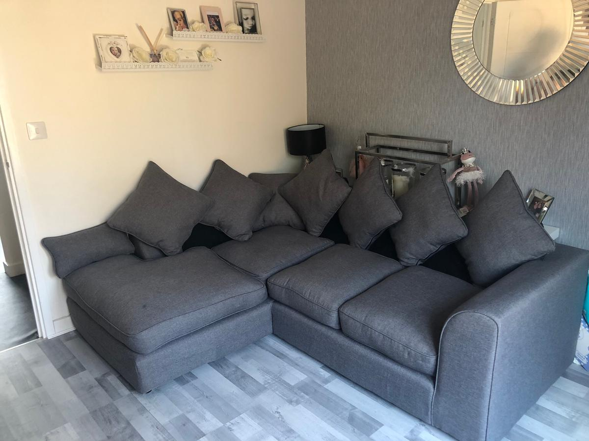 Small Grey Corner Sofa In Cw7 Winsford