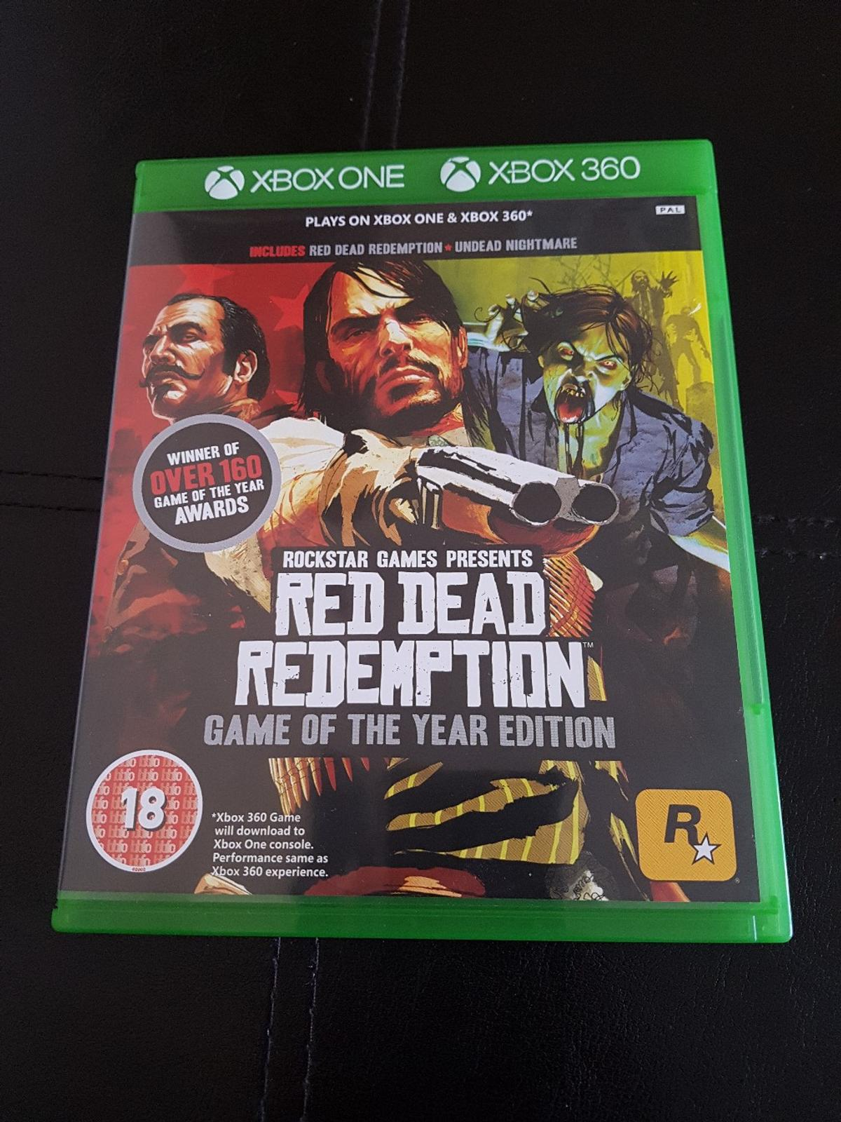 red dead redemption xbox one and xbox 360