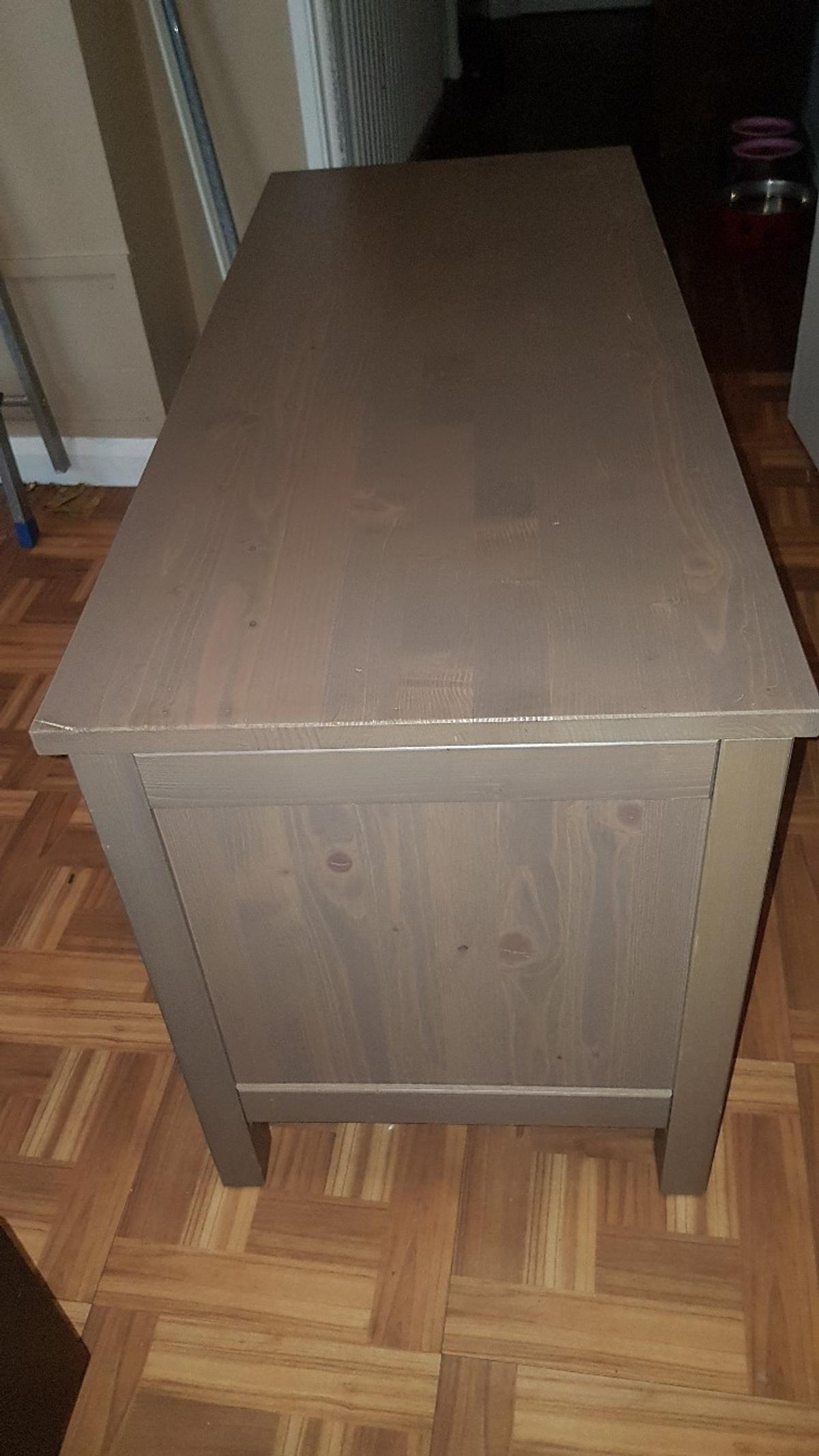 SOLID WOOD 2 DRAW TV UNIT LIGHT BROWN in W9 London for
