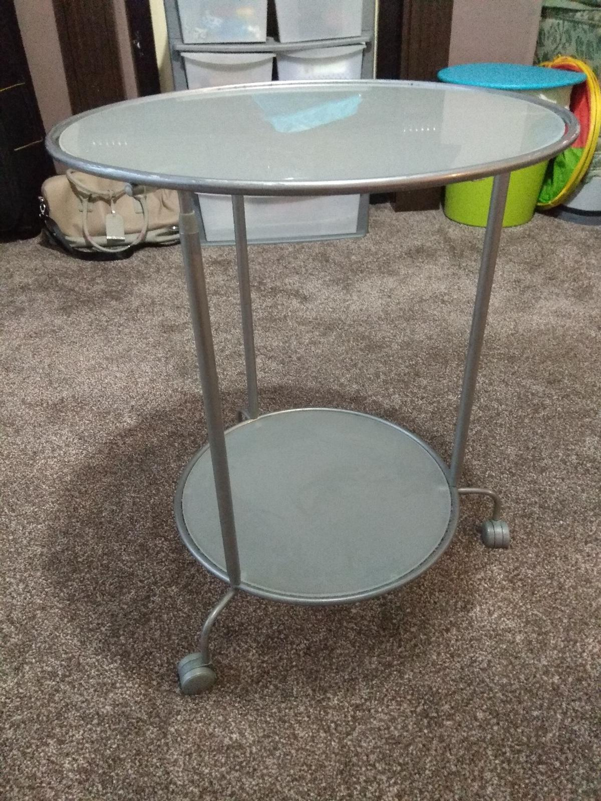 Two Tier Glass Coffee Table In Bl3 Bolton For 1500 For Sale Shpock