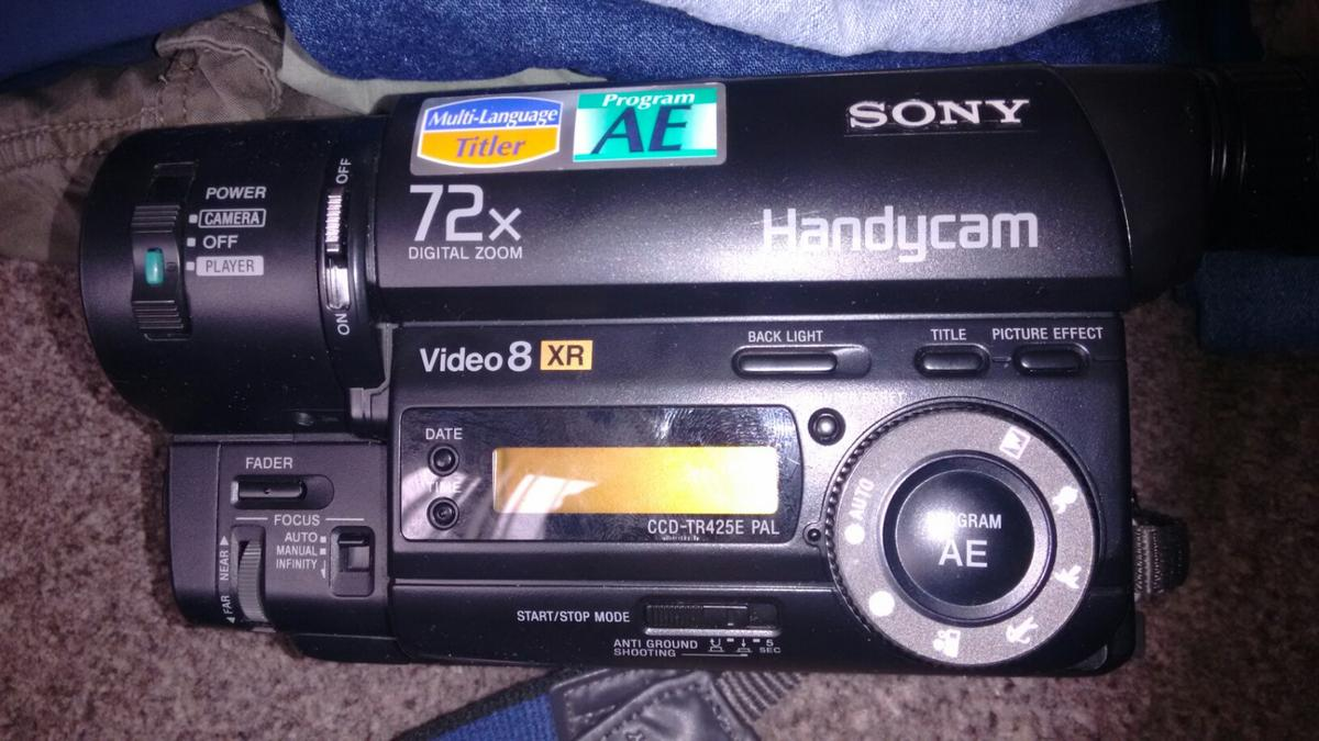 sony handycam video8 xr in WN1 Wigan for free for sale - Shpock