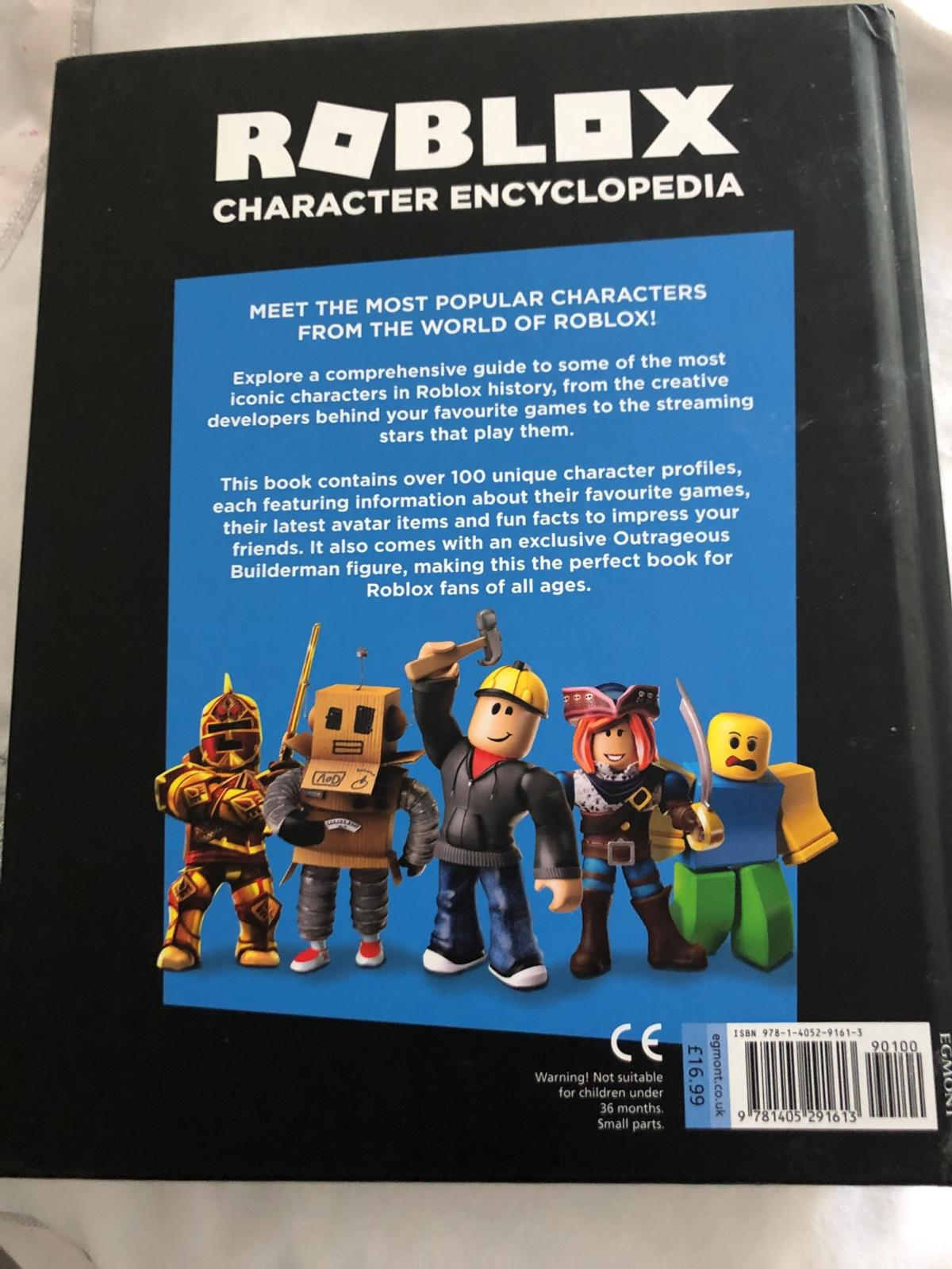 Roblox Character Encyclopaedia In Wf16 Kirklees For 10 00 For