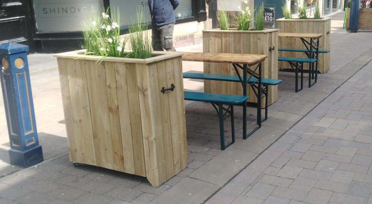Plant commercial special furniture