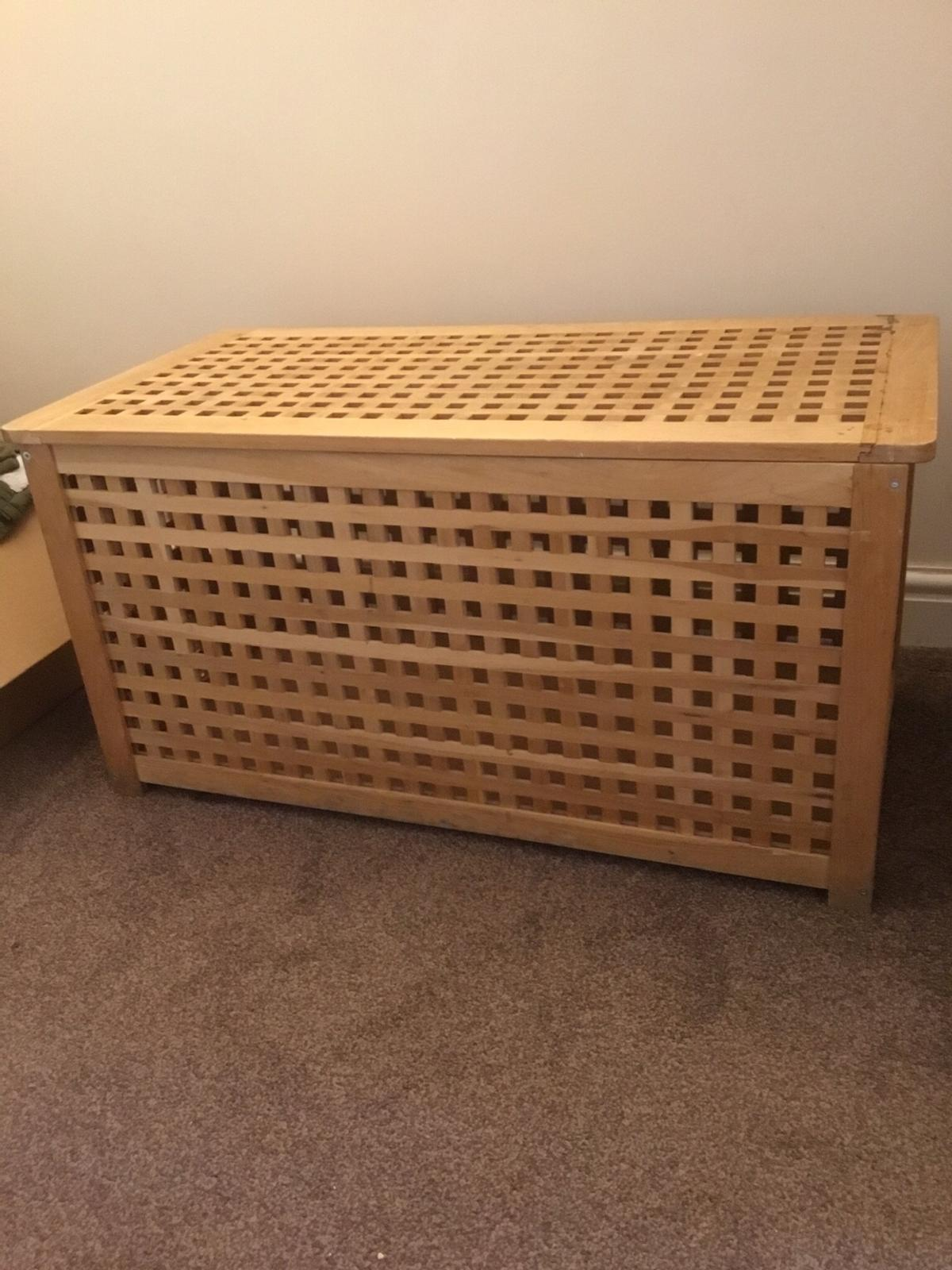 Large Ikea Hol Storage Blanket Box In Ws11 Cannock Chase For 15 00 For Sale Shpock