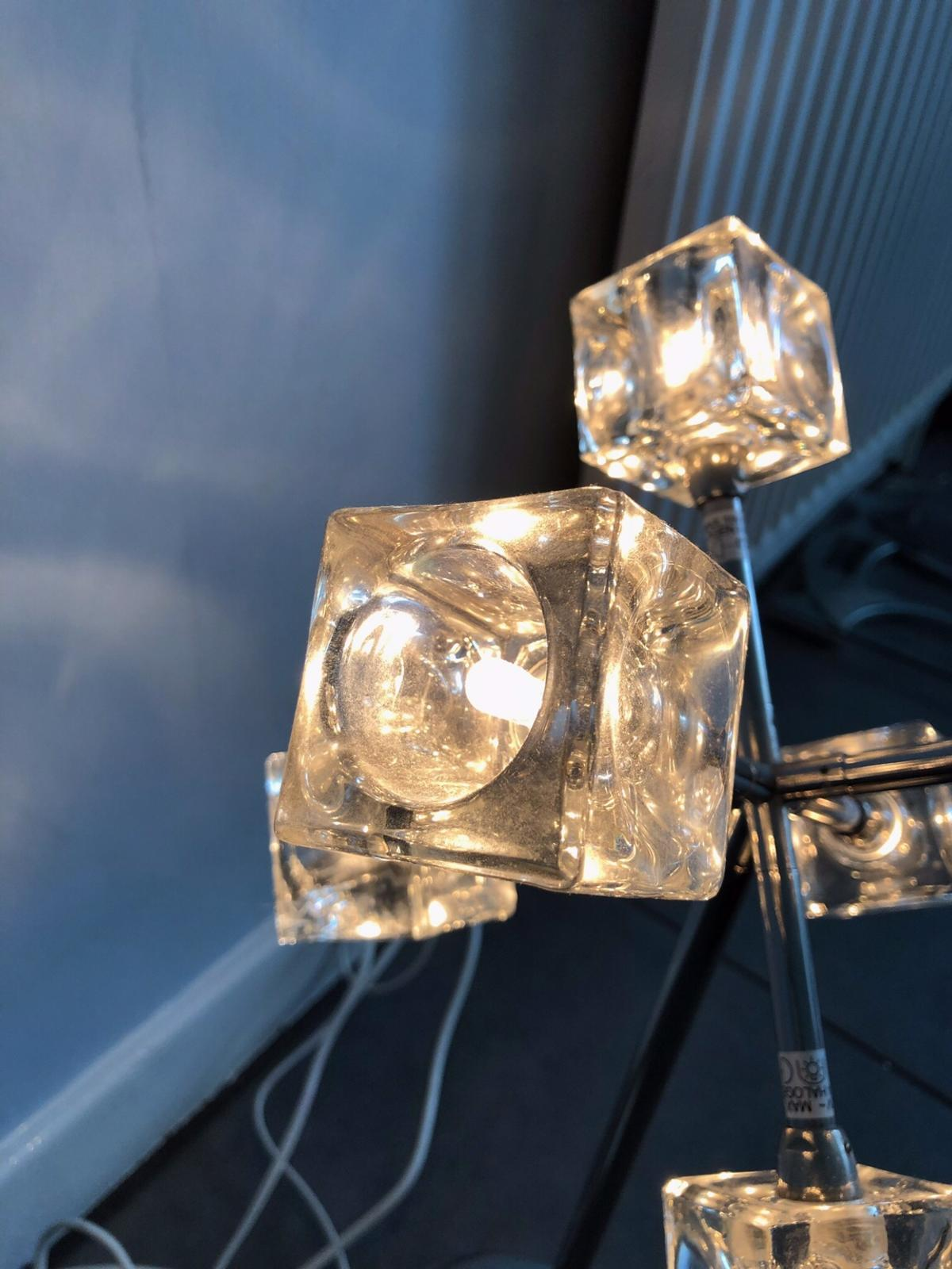 IKEA Ice cube lamp isasa dimmer in B23