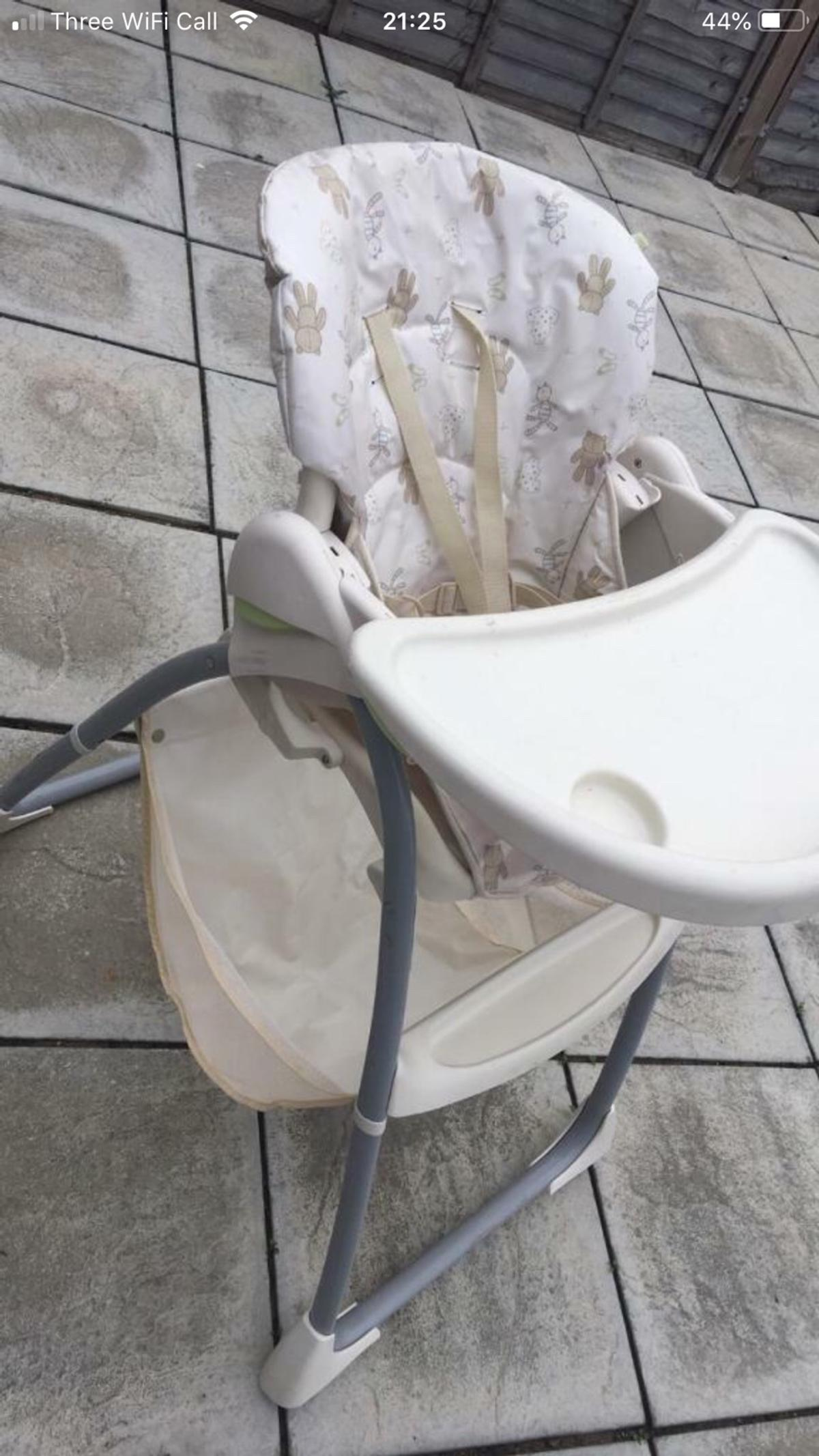 Astonishing Kids Cream High Chair From Mothercare Bralicious Painted Fabric Chair Ideas Braliciousco