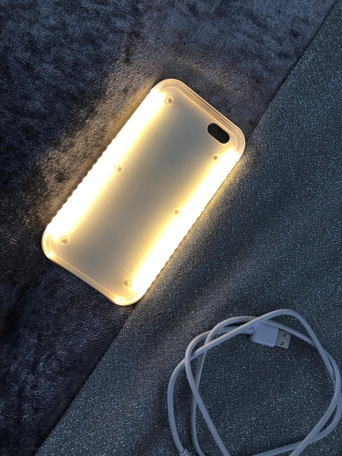 new arrival f36a4 65cb0 Lumee iPhone 6s light up phone case