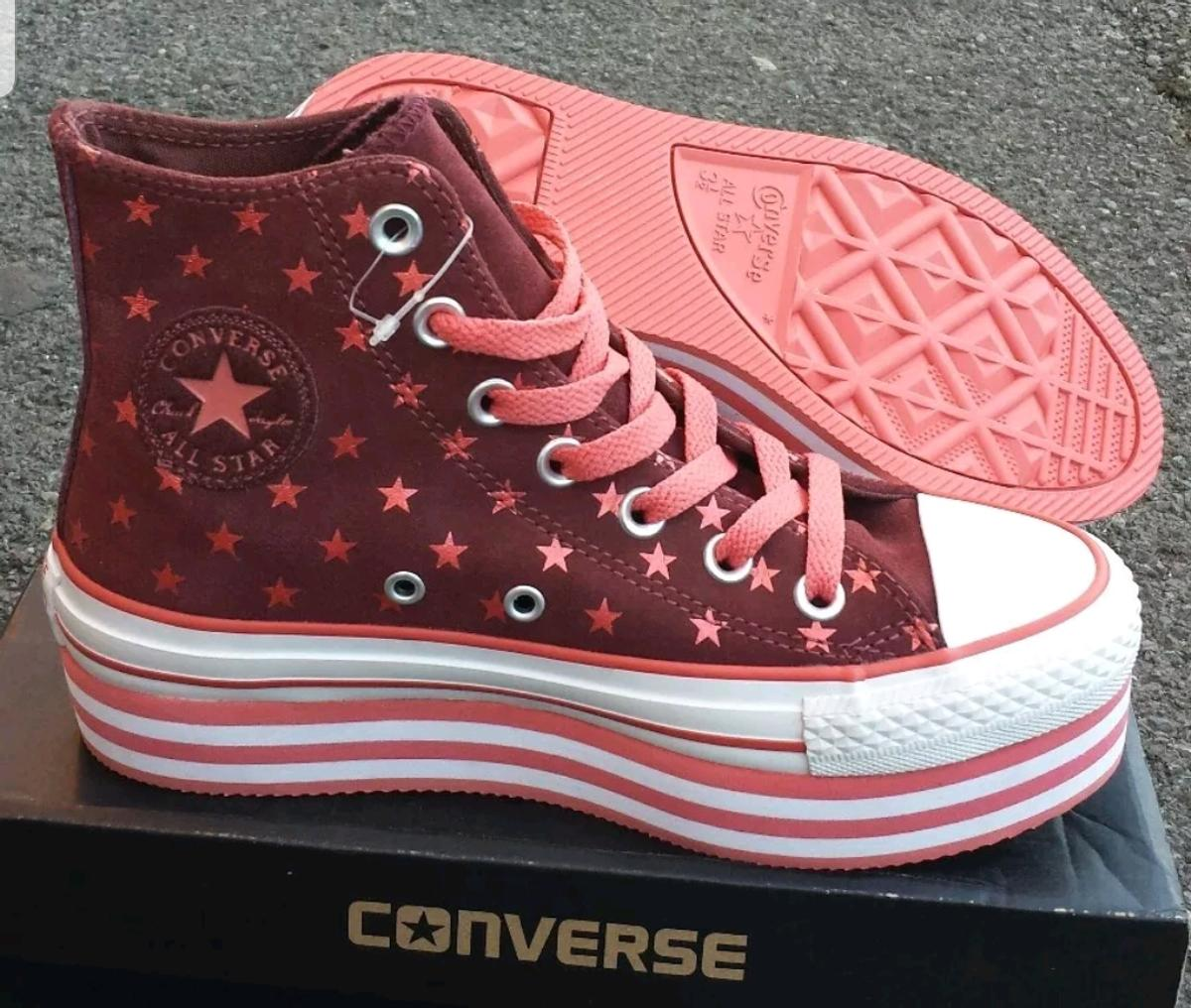 CONVERSE ALL STAR WOMENS WEDGE TRAINERS in M18 Manchester