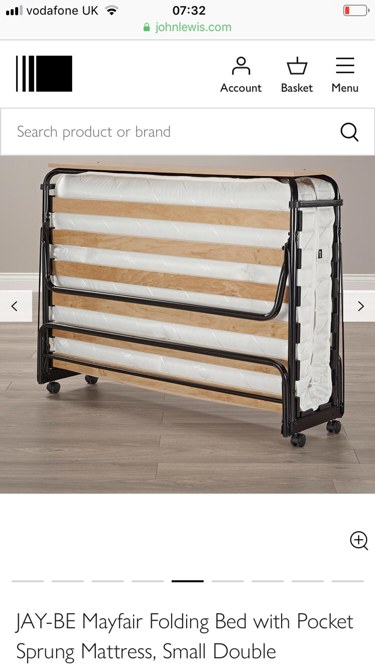 - JAY-BE Small Double Folding Bed In ME1 Rochester Für 150,00 £ Zum