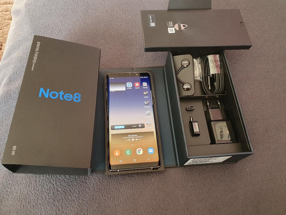 Samsung Galaxy Note 8 Maple Gold In 09599 Freiberg For