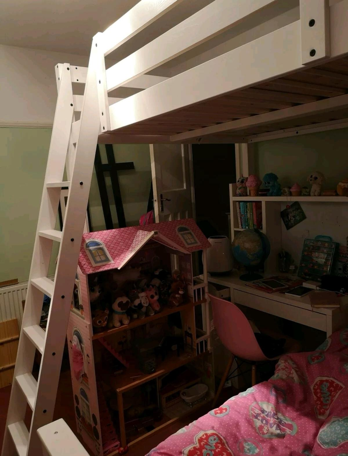 Picture of: Ikea Stora Double Loft Bed High Sleeper In N21 London Borough Of Enfield For 175 00 For Sale Shpock