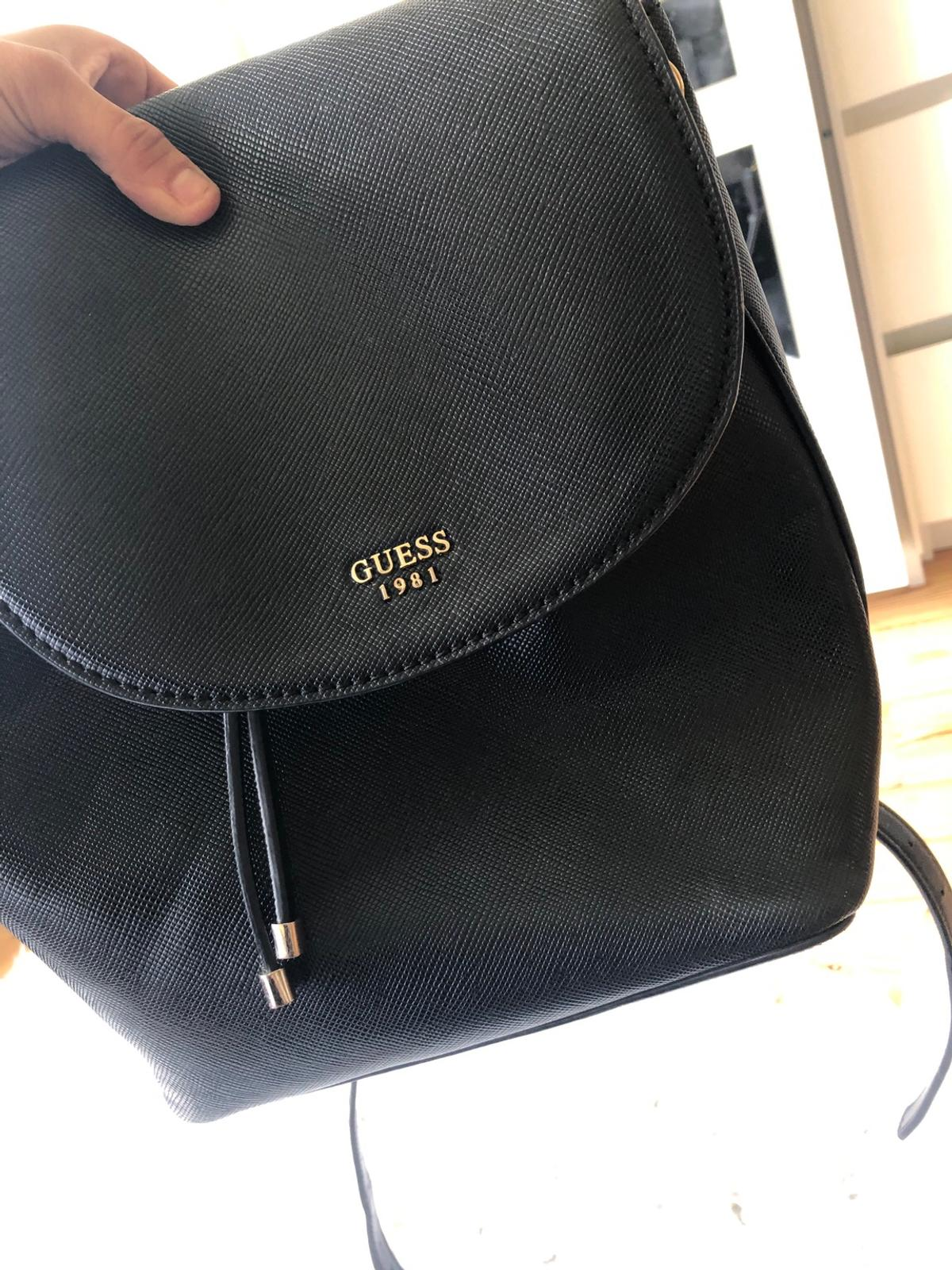 lower price with select for best affordable price Black Guess Backpack