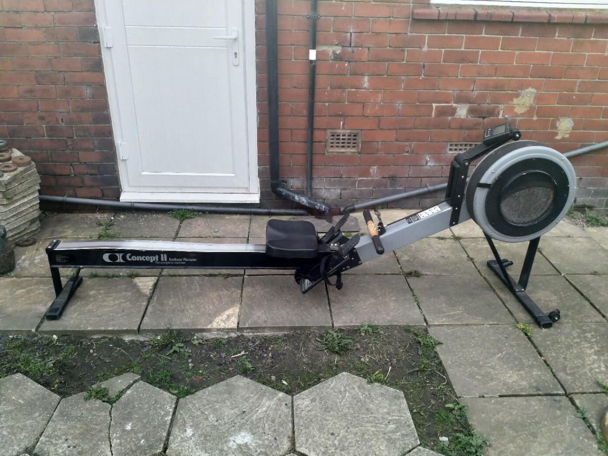 Concept 2 rowing machine spares or repair in WA1 Padgate for