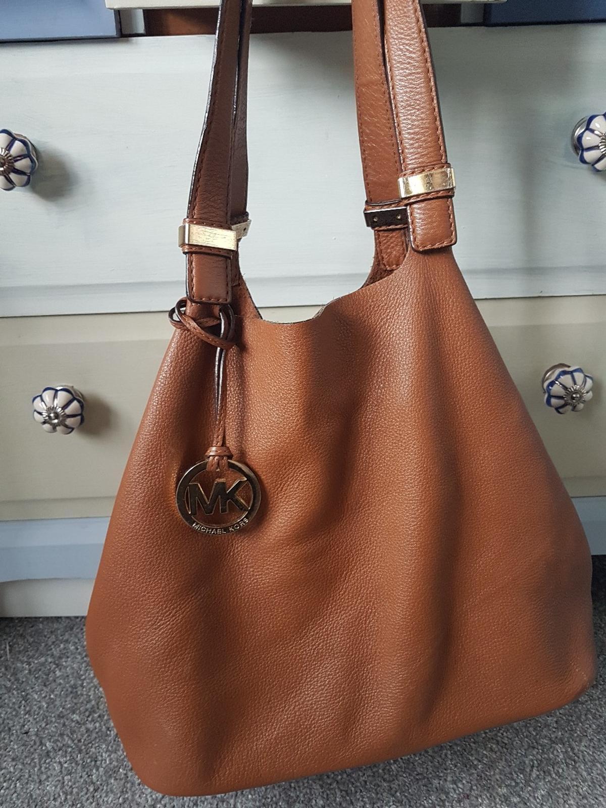 6e66c1ffe8e9 genuine Michael kors tan leather bag in S62 Rotherham for £30.00 for ...