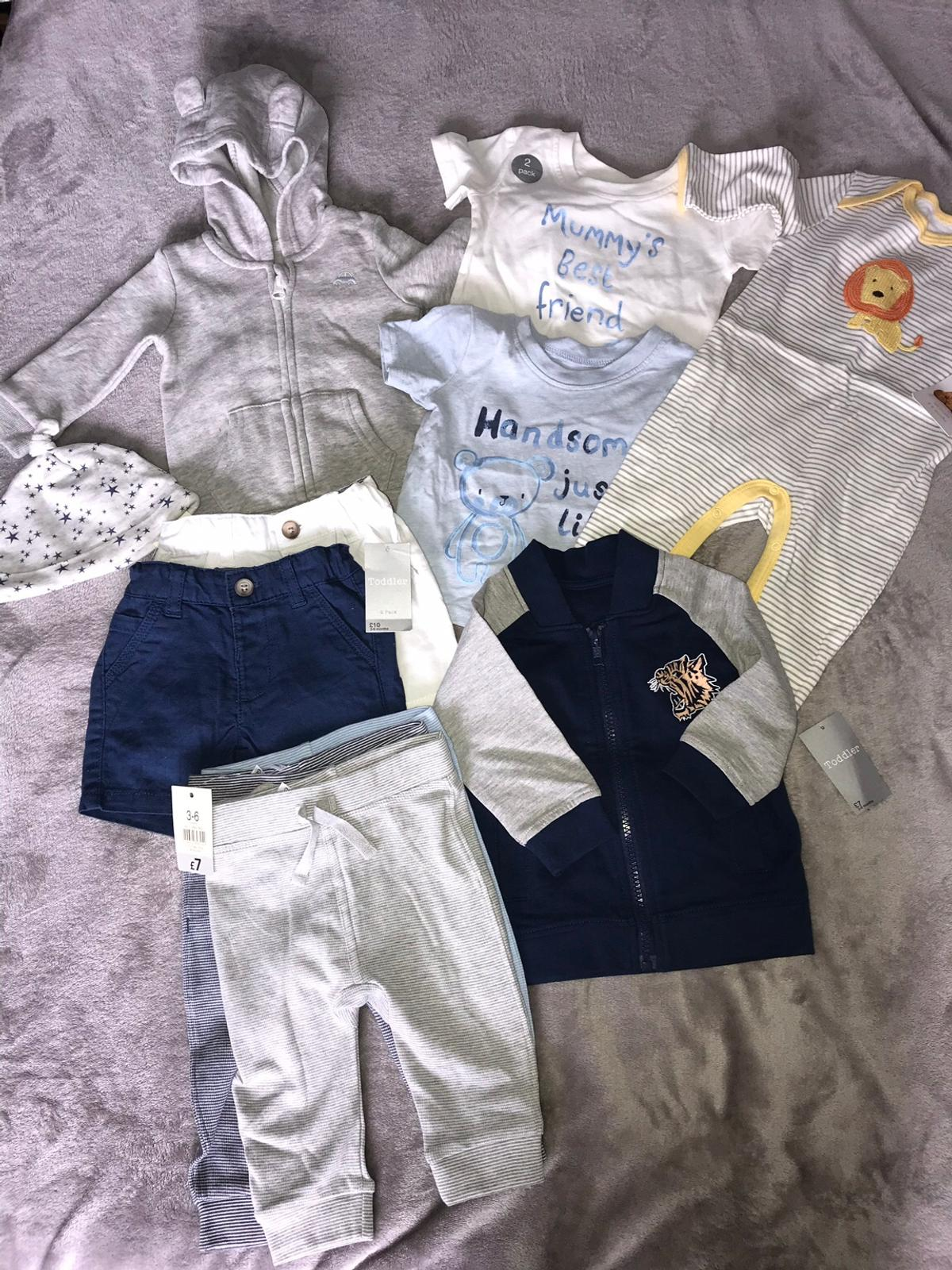 1a0ca3261878 Boy's 3-6 Months Bundle of clothes in B66 Sandwell for £10.00 for ...