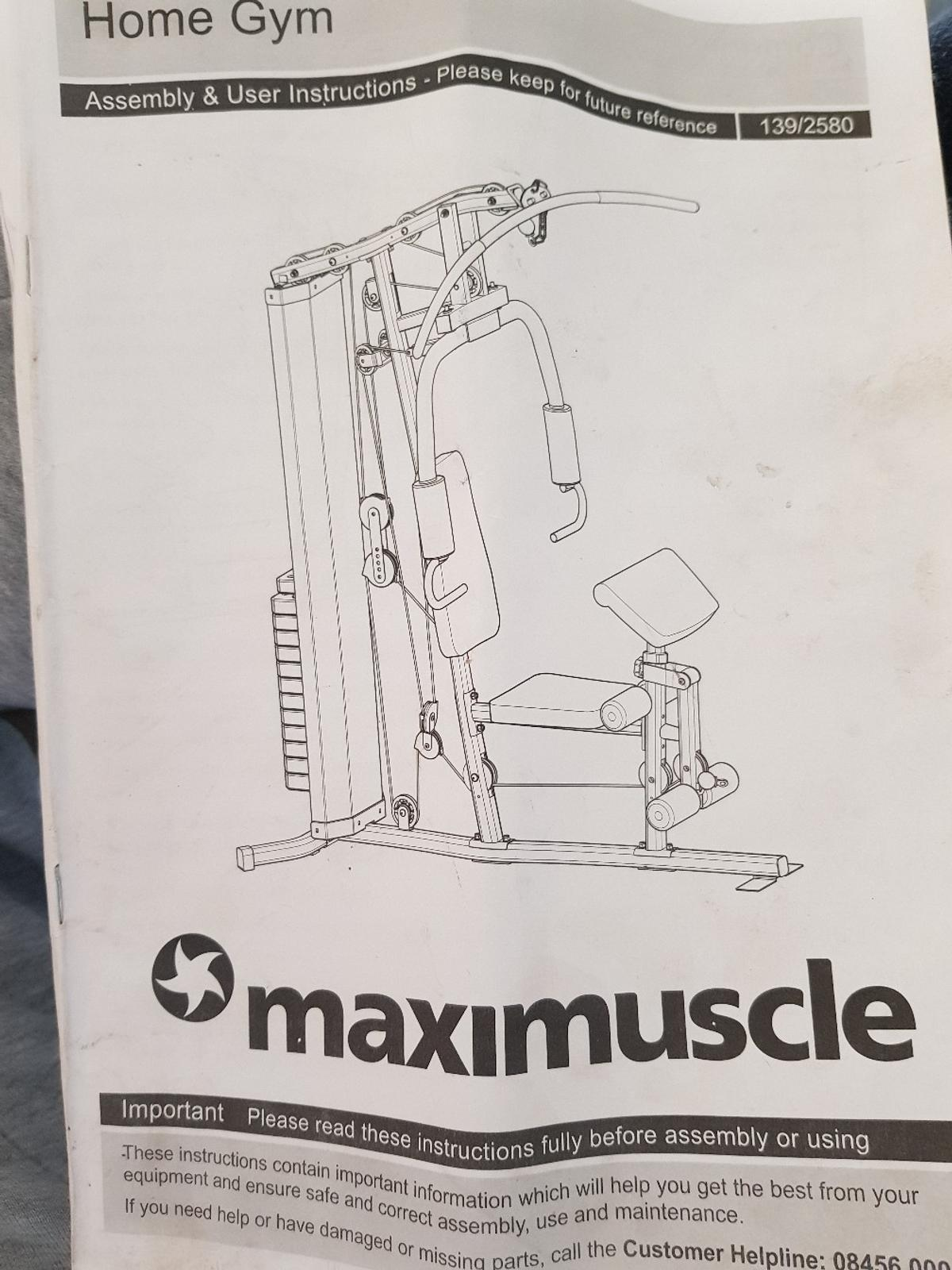 Maximuscle home gym in b sandwell for £ for sale shpock