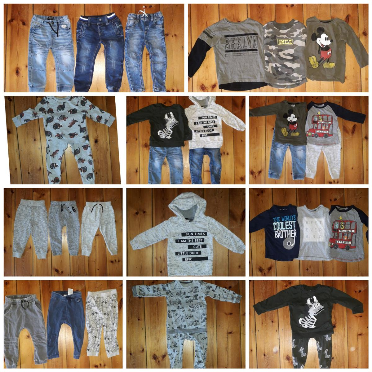 7a96694f8928 Boys clothes bundle age 18-24 months 44 pcs in Gateshead for £20.00 ...