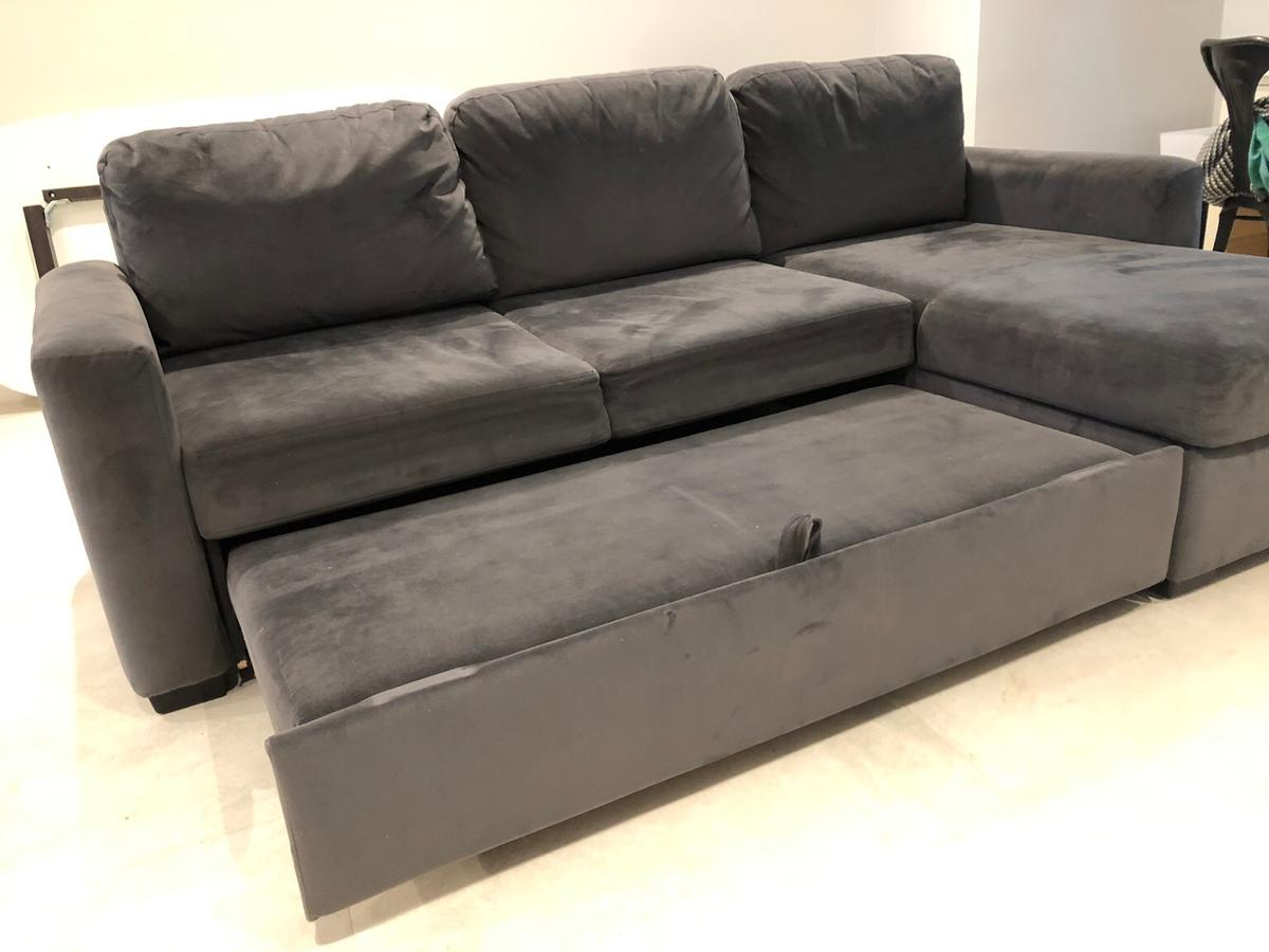 Fine Grey John Lewis Sofa Bed In N2 London For 100 00 For Sale Gmtry Best Dining Table And Chair Ideas Images Gmtryco