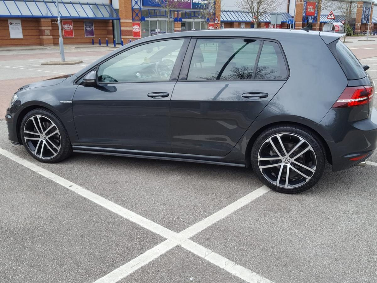 VW Golf GTD 2016 dark grey 5dr sat nav in S7 Sheffield for