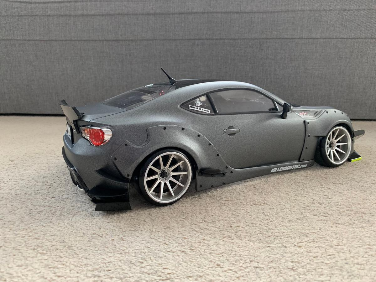 Rc drift 1:10 body shell toyota gt86 in LE4 Leicester for