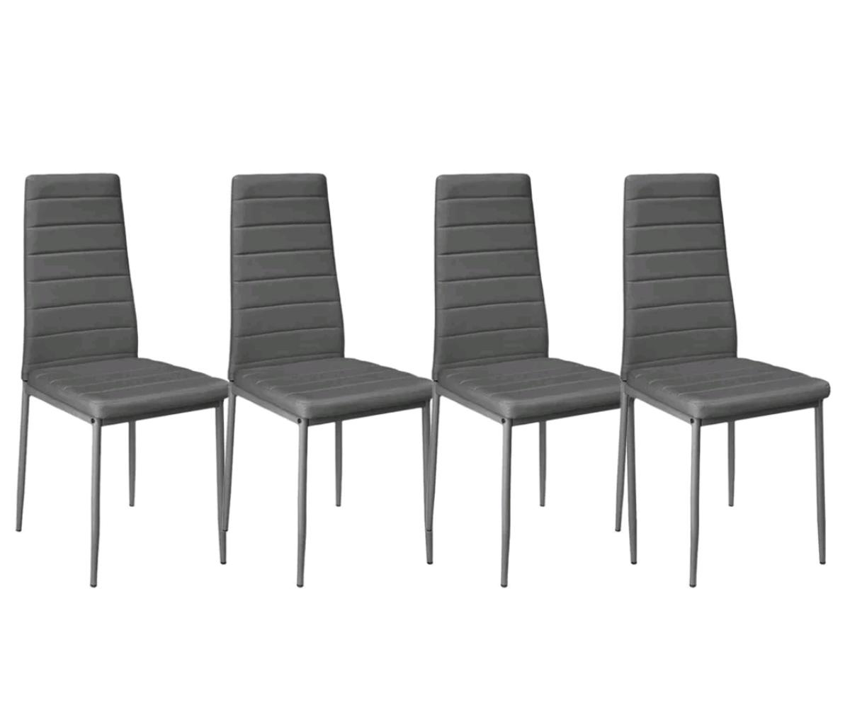 Miraculous 6X Dining Chairs Dining Room Chairs Grey Taup Bralicious Painted Fabric Chair Ideas Braliciousco