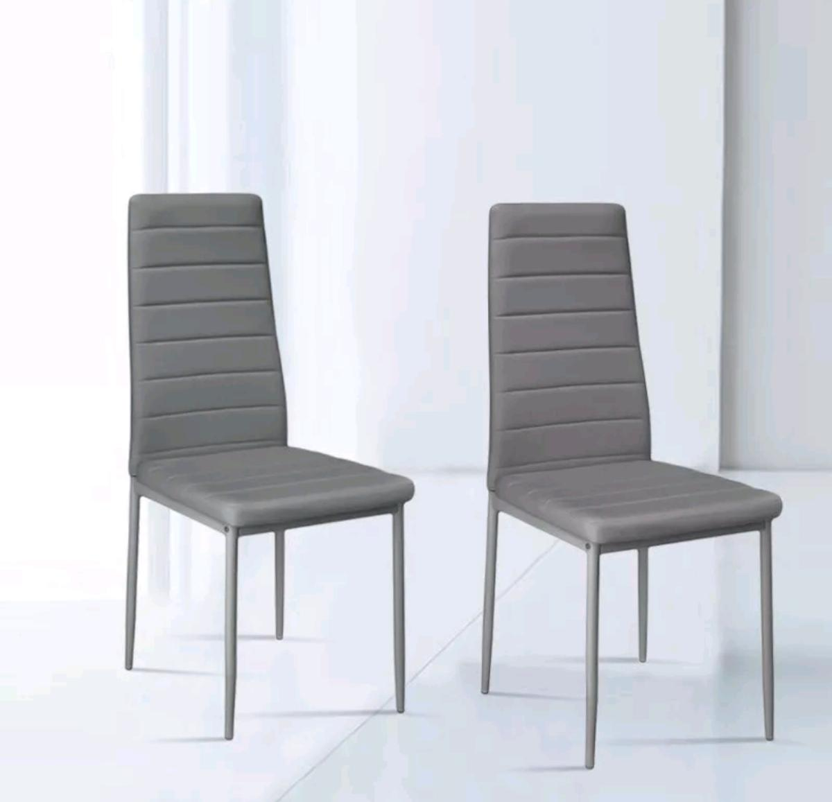 Phenomenal 6X Dining Chairs Dining Room Chairs Grey Taup Creativecarmelina Interior Chair Design Creativecarmelinacom