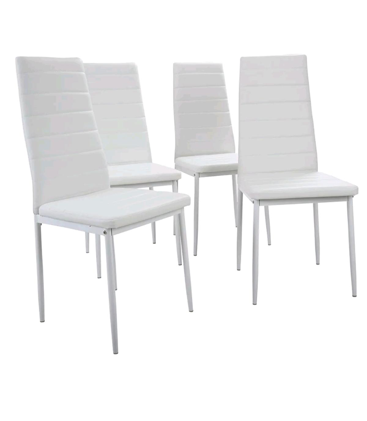 9x Dining Chairs Dining Room Chair white SALE in NW9 Westminster ...