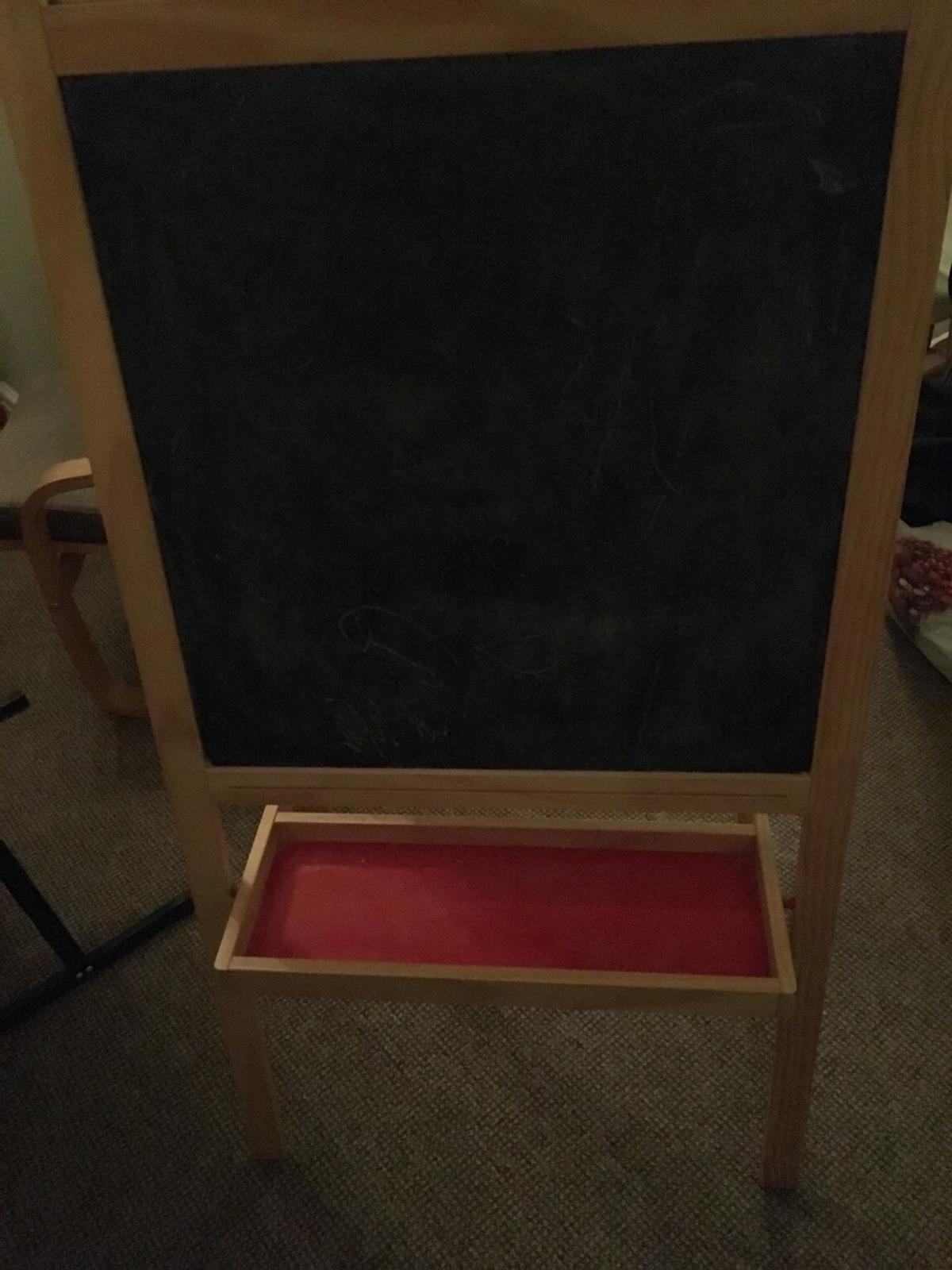 Ikea Chalk Whiteboard Easel Eraser Pens In Sk16 Tameside For 5 00 For Sale Shpock