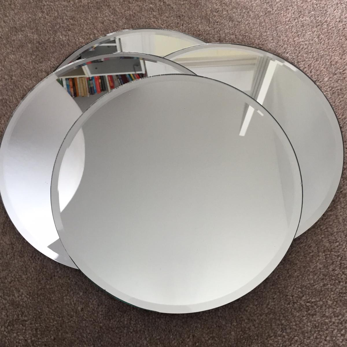 Wedding Decorations 4x Round Mirror