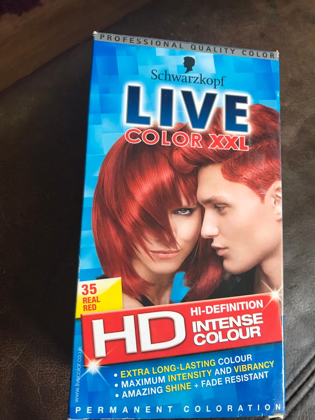 Schwarzkopf Live Colour Xxl Red Hair Dye