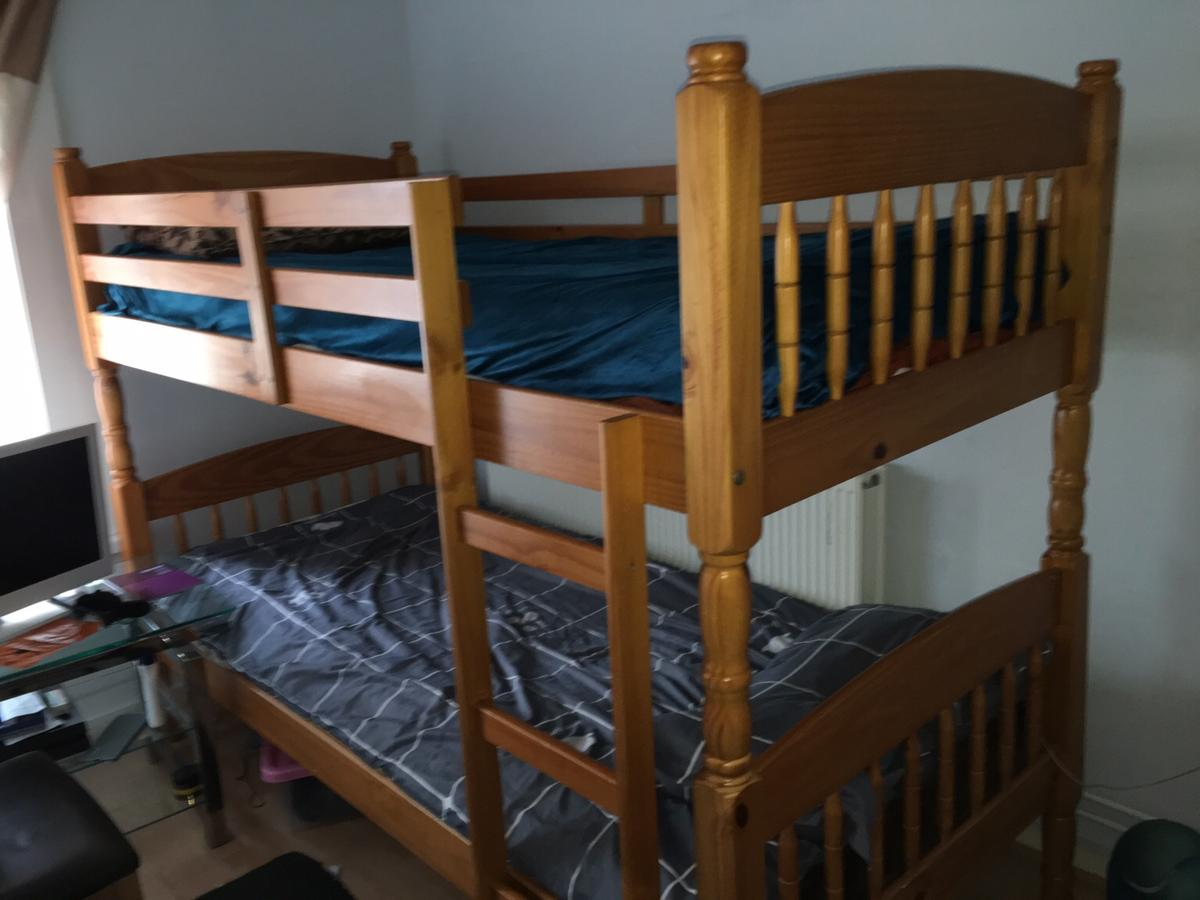Picture of: Wooden Bunk Bed In Po1 Portsmouth For 30 00 For Sale Shpock