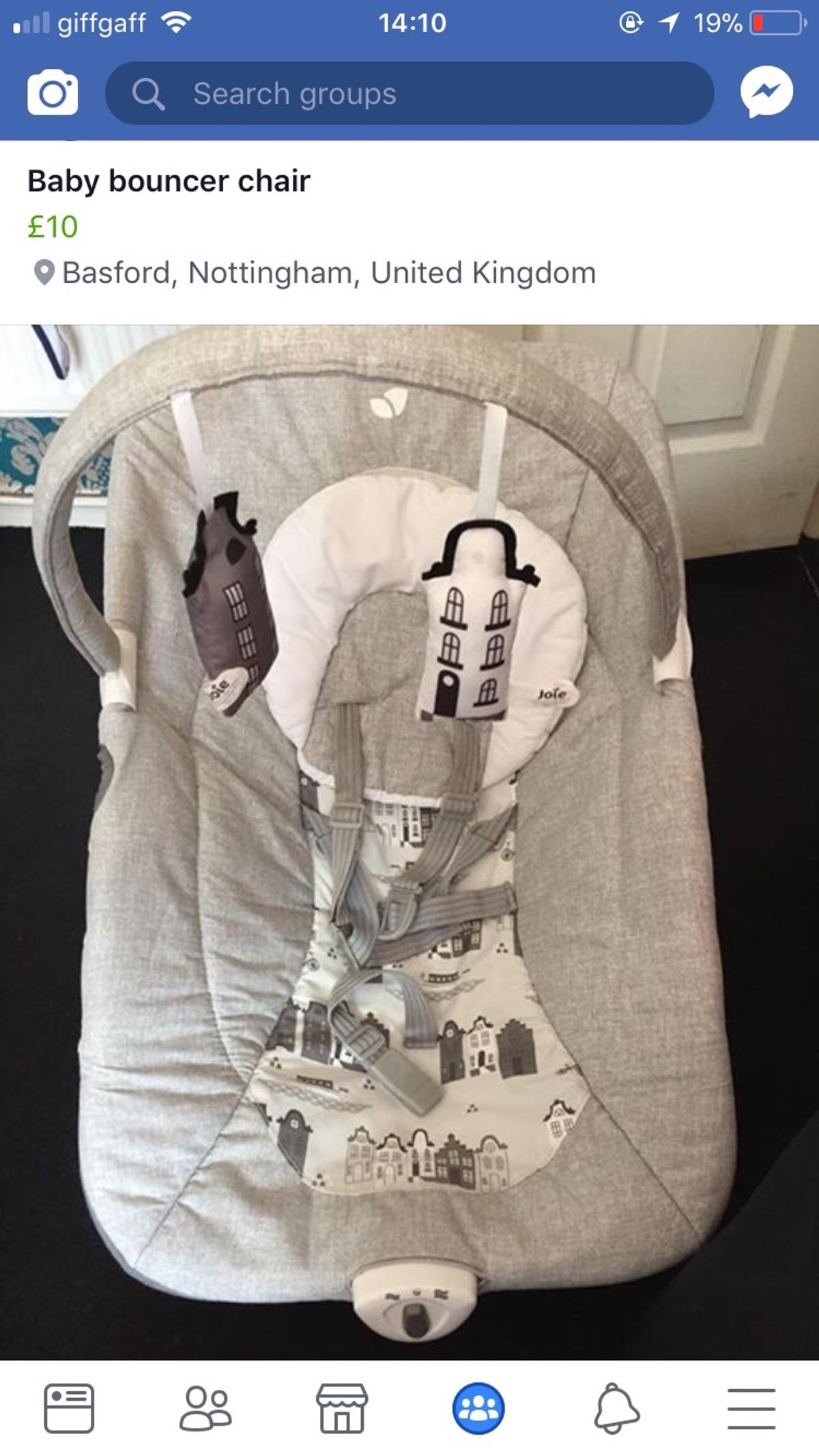 ce9630e7bcf Baby bouncer chair in NG5 Nottingham for £10.00 for sale - Shpock