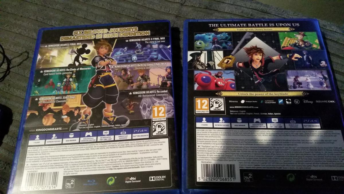 kingdom hearts collection ps4 games in B37 Solihull for