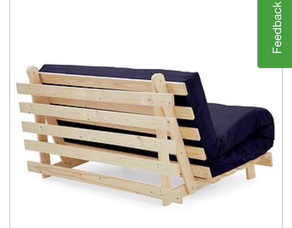 Double Wooden Futon Sofa Bed In Dudley