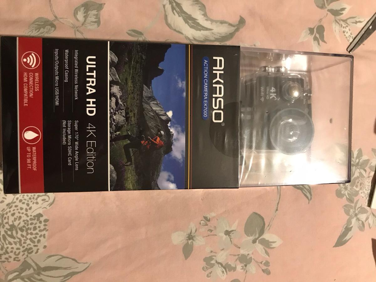 AKASO ACTION CAMERA EK7000 ULTRA HD in LS11 Leeds for £35 00