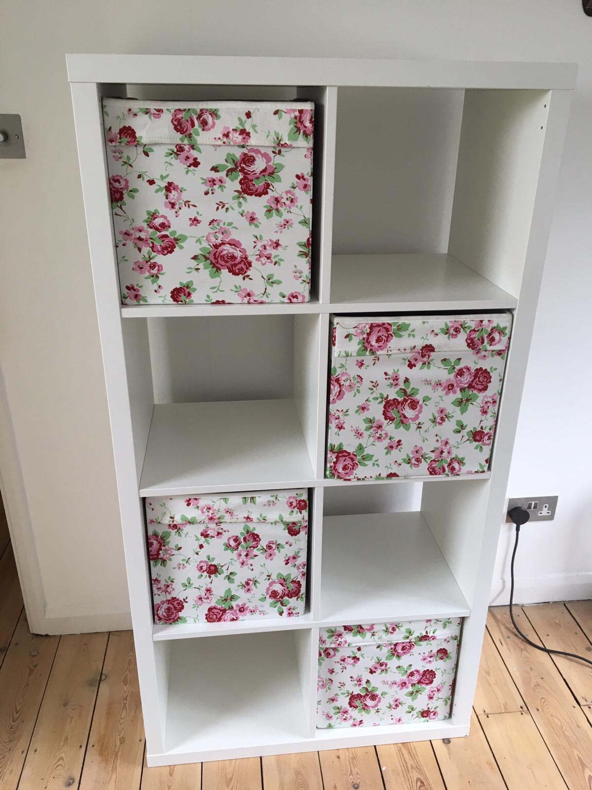 Ikea shelving unit with 4 storage boxes in N10 London for £30 00 for
