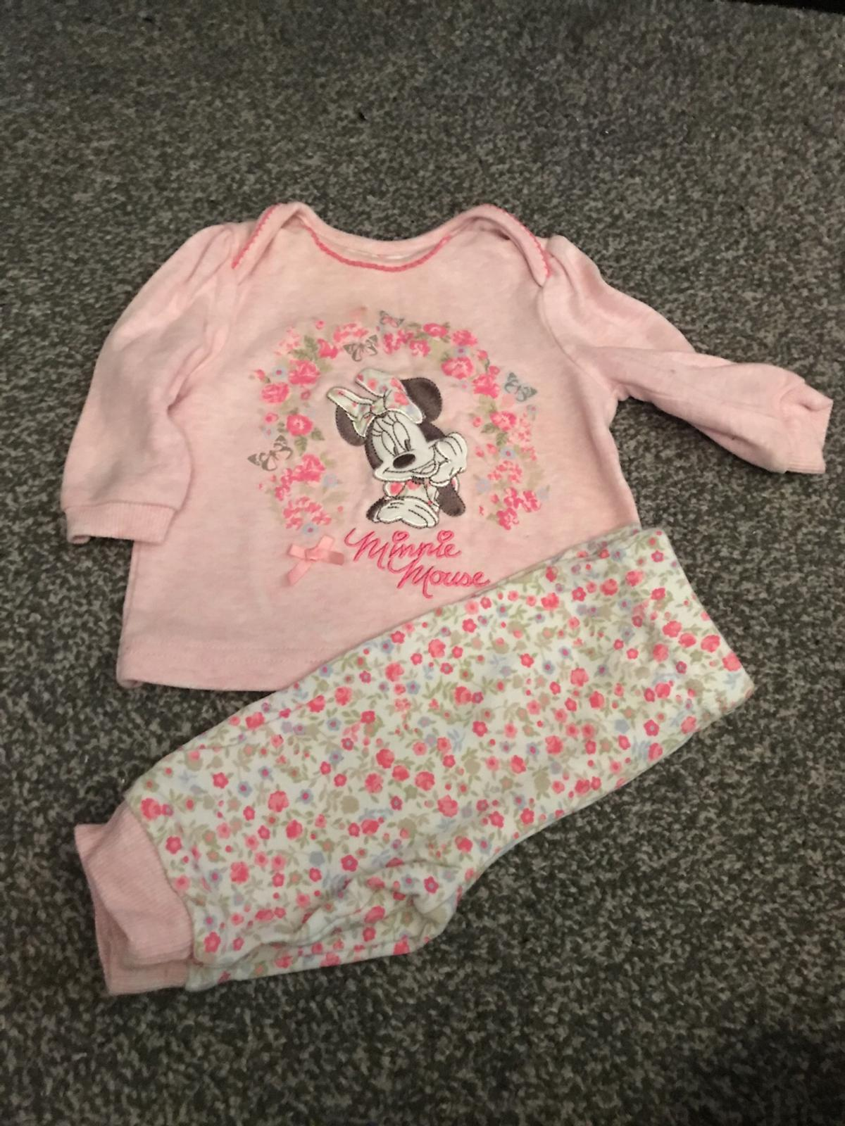 18f74126d9a0 0-3 months baby girls Minnie Mouse outfit in Cannock Chase for £1.00 ...