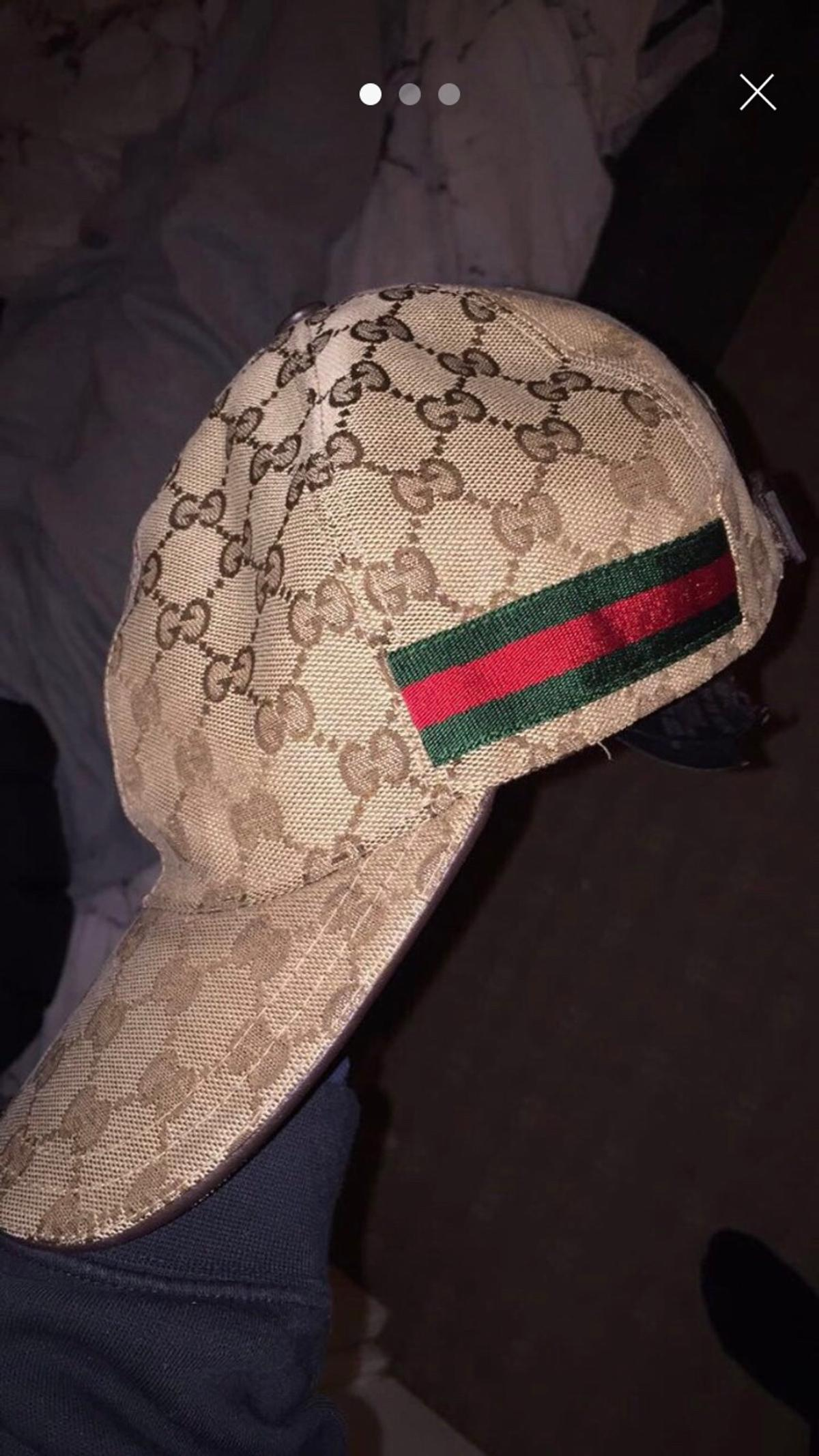 37bb4bb88e06b4 Gucci cap size medium in Oldham for £150.00 for sale - Shpock
