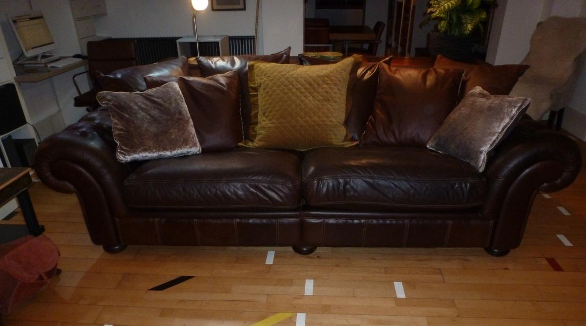 Extra large Chesterfield Sofa