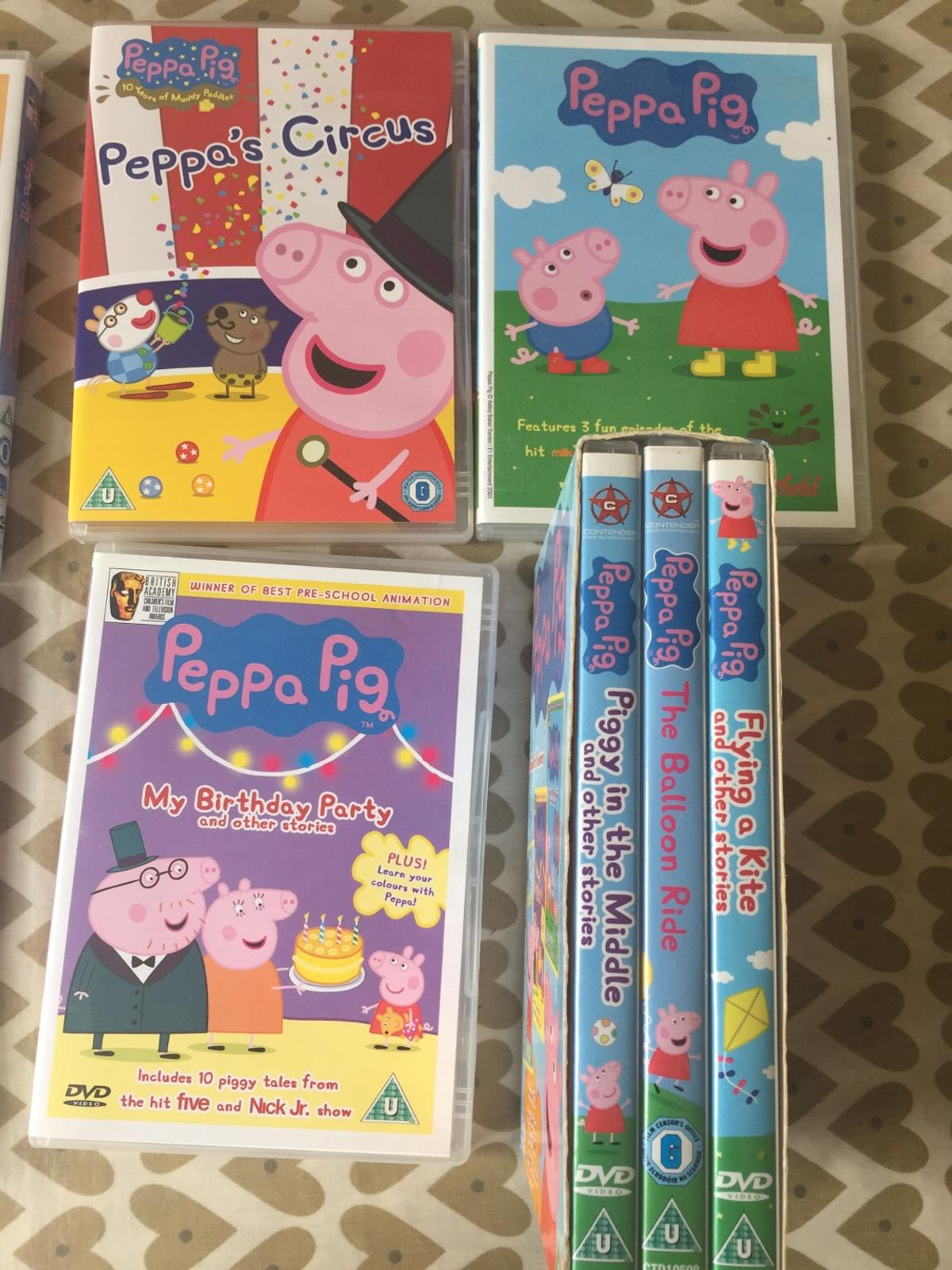 Peppa Pig DVD's in Dudley for £5 00 for sale - Shpock