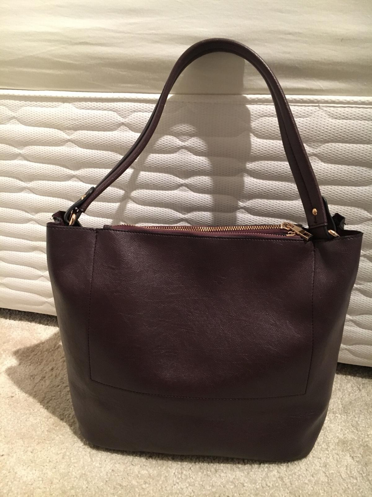bbb6c6b0731f REDUCED - Oasis Brown Handbag in DY5 Dudley for £18.00 for sale - Shpock