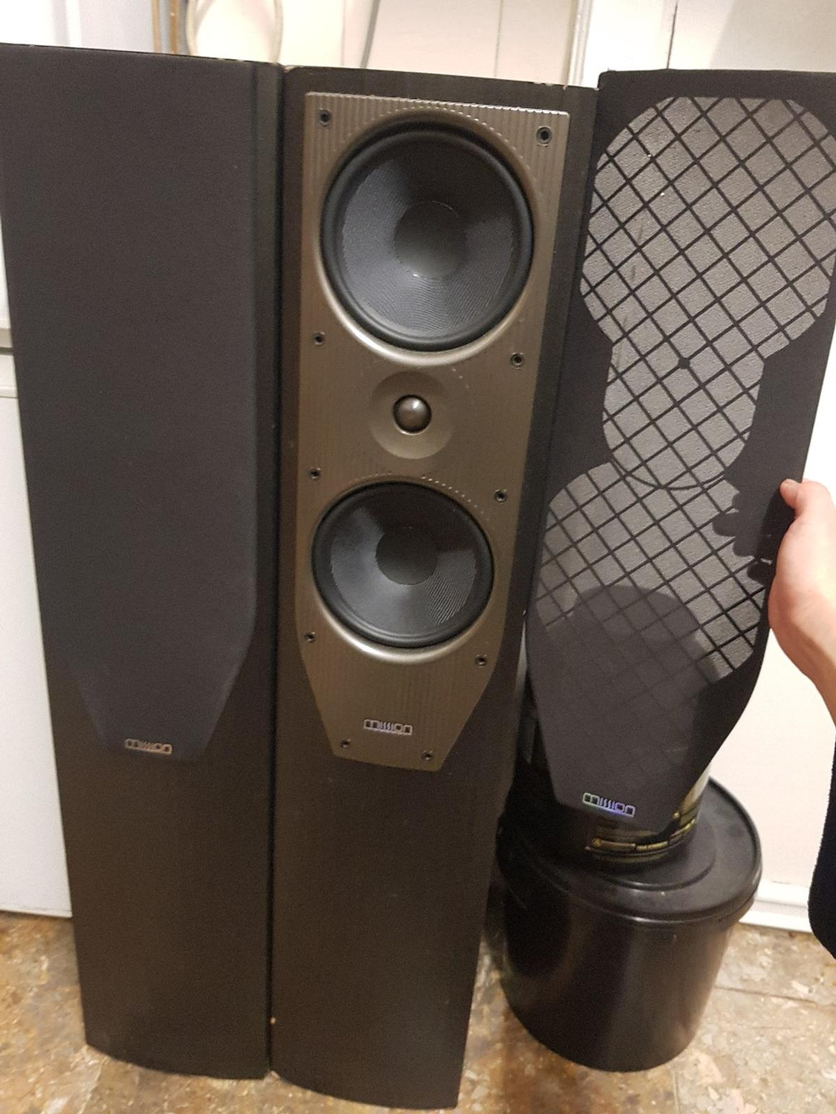 MISSION M74 Stereo Speaker Pair in E9 London für 100,00 ... on