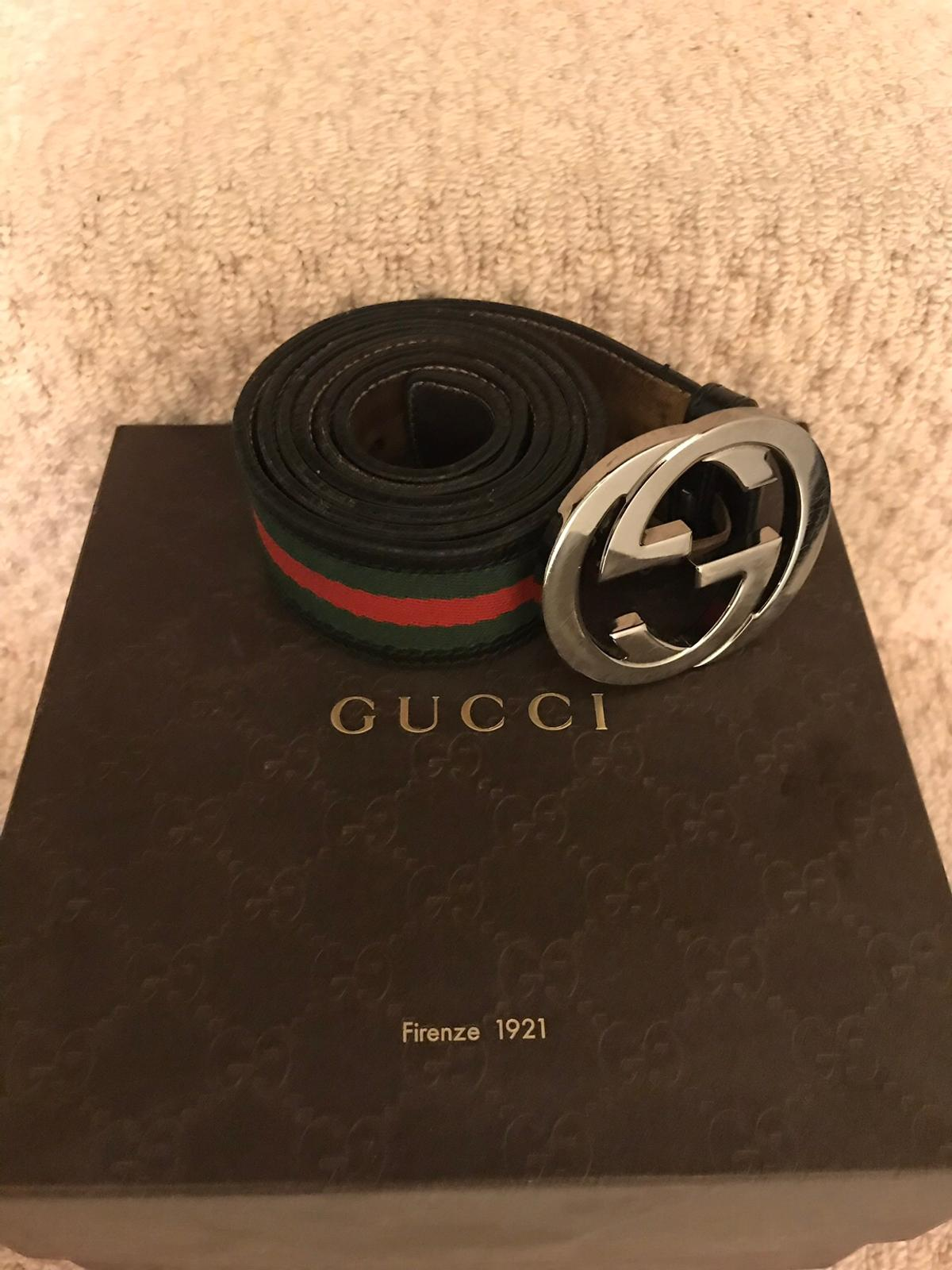 d5d9f083d84 Genuine used men s Gucci belt in LU2 Luton for £120.00 for sale - Shpock