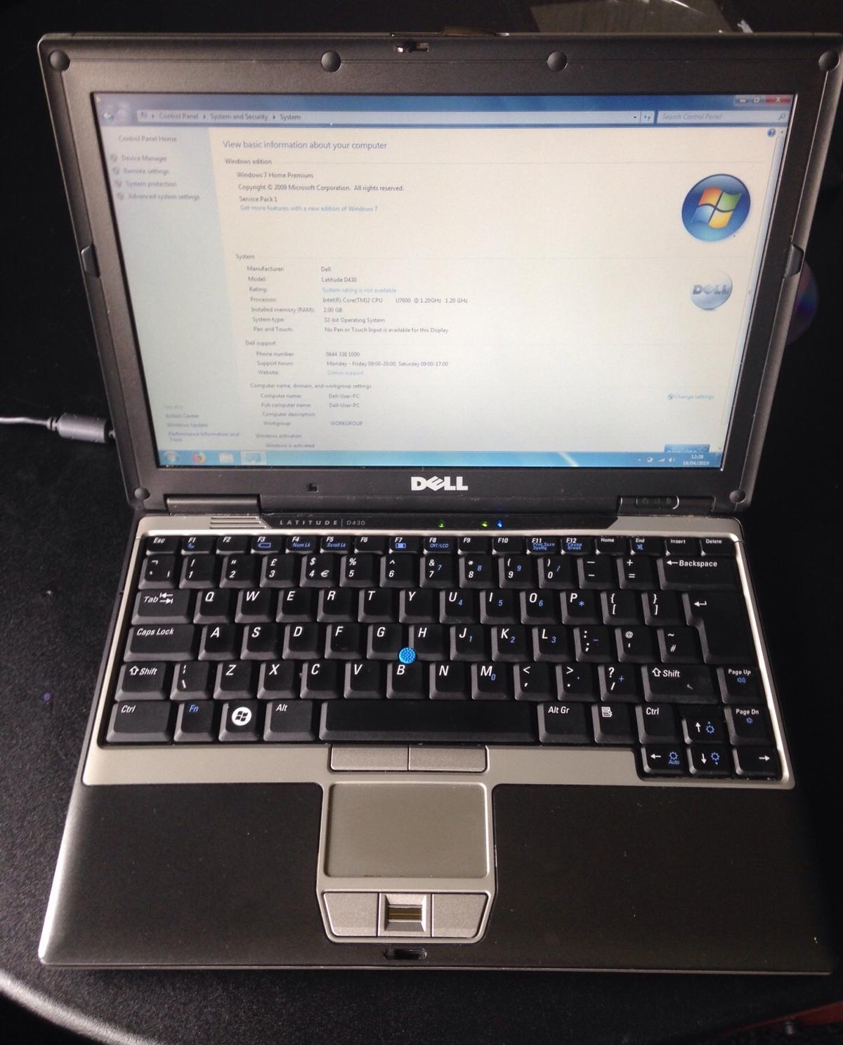 Dell Latitude D430 12 1 Laptop in B11 Birmingham for £30 00