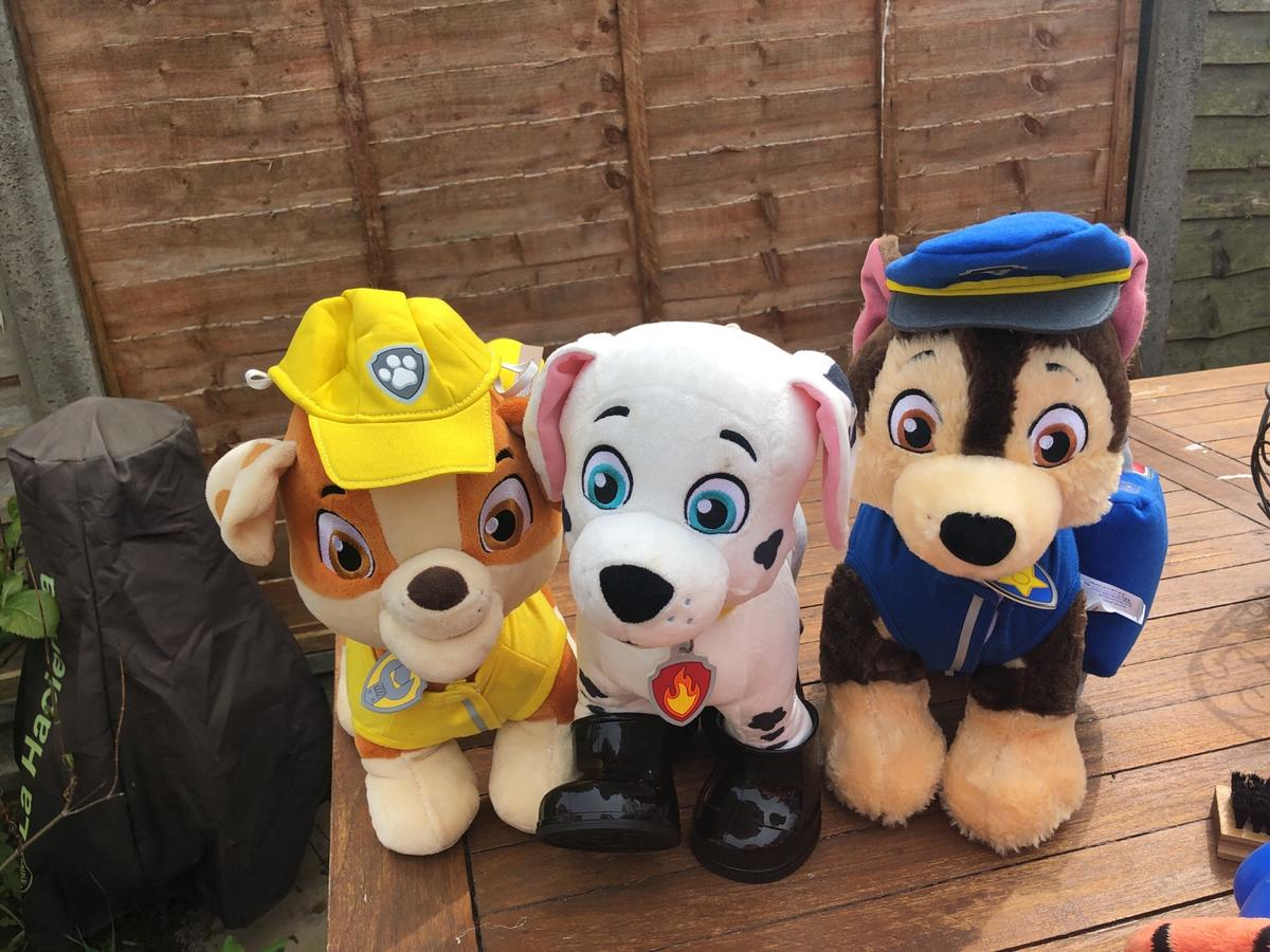 Build a bear Paw Patrol Marshall rubble chase in Oakengates