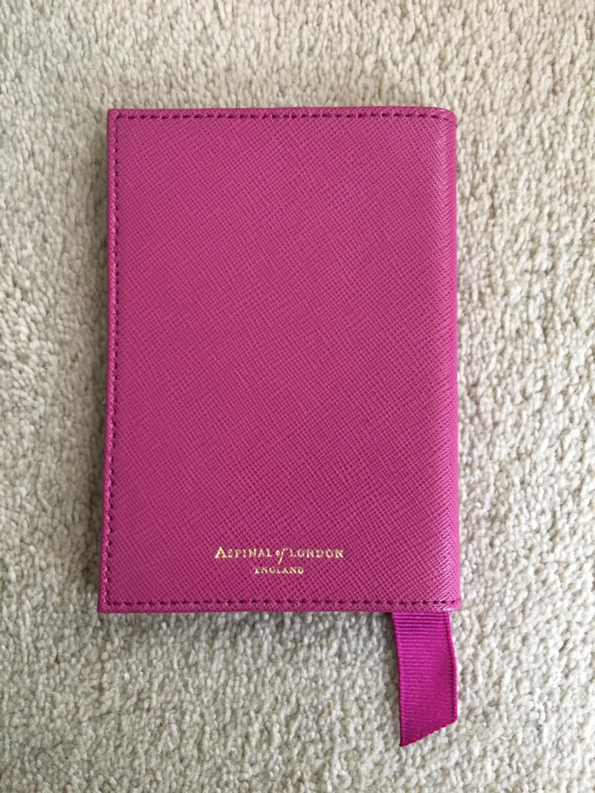 23bed40f1 Leather passport cover - Aspinal of London in W4 London for £25.00 ...