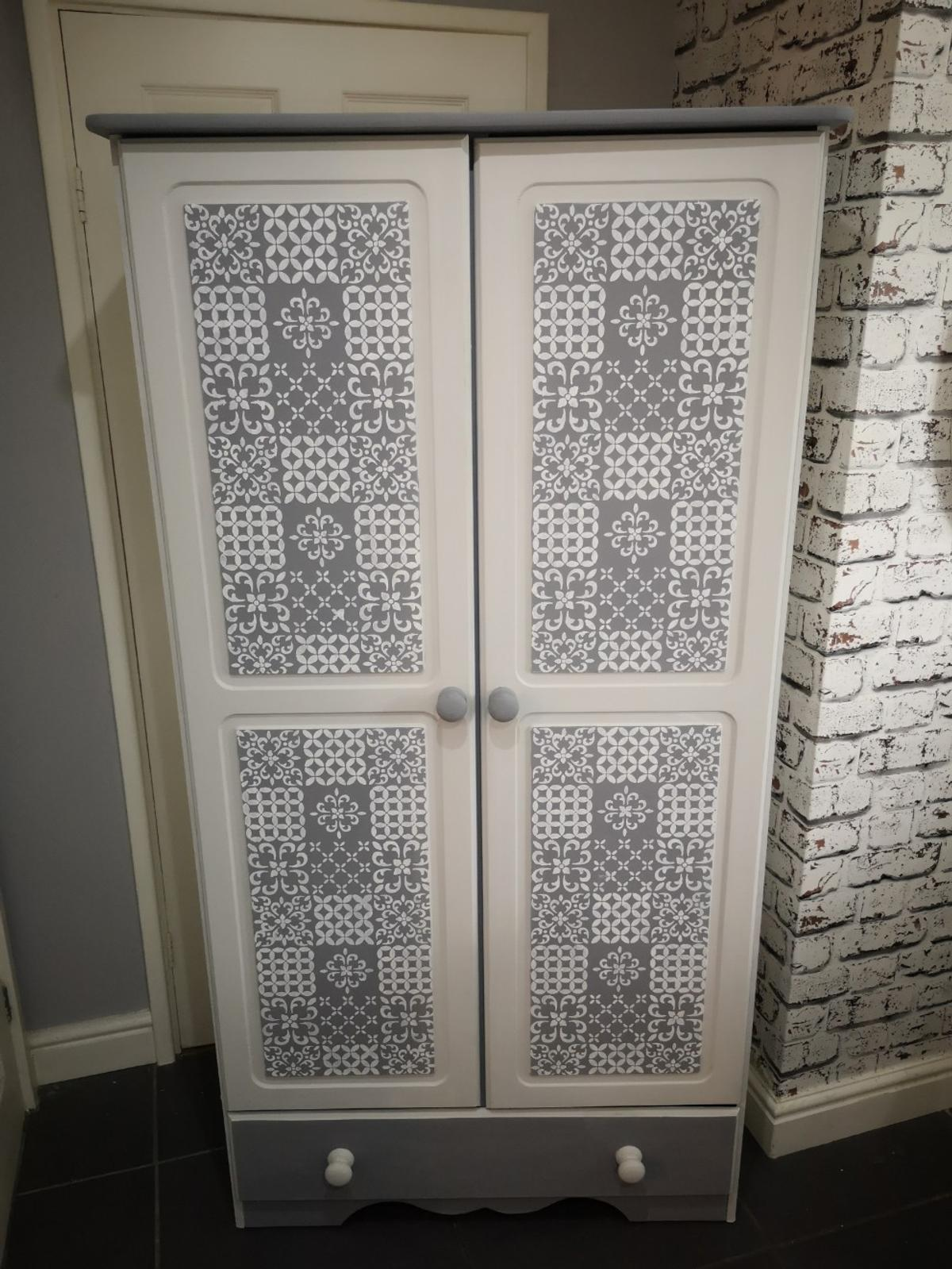 bedroom furniture set hand painted upcycled in L20 Sefton ...