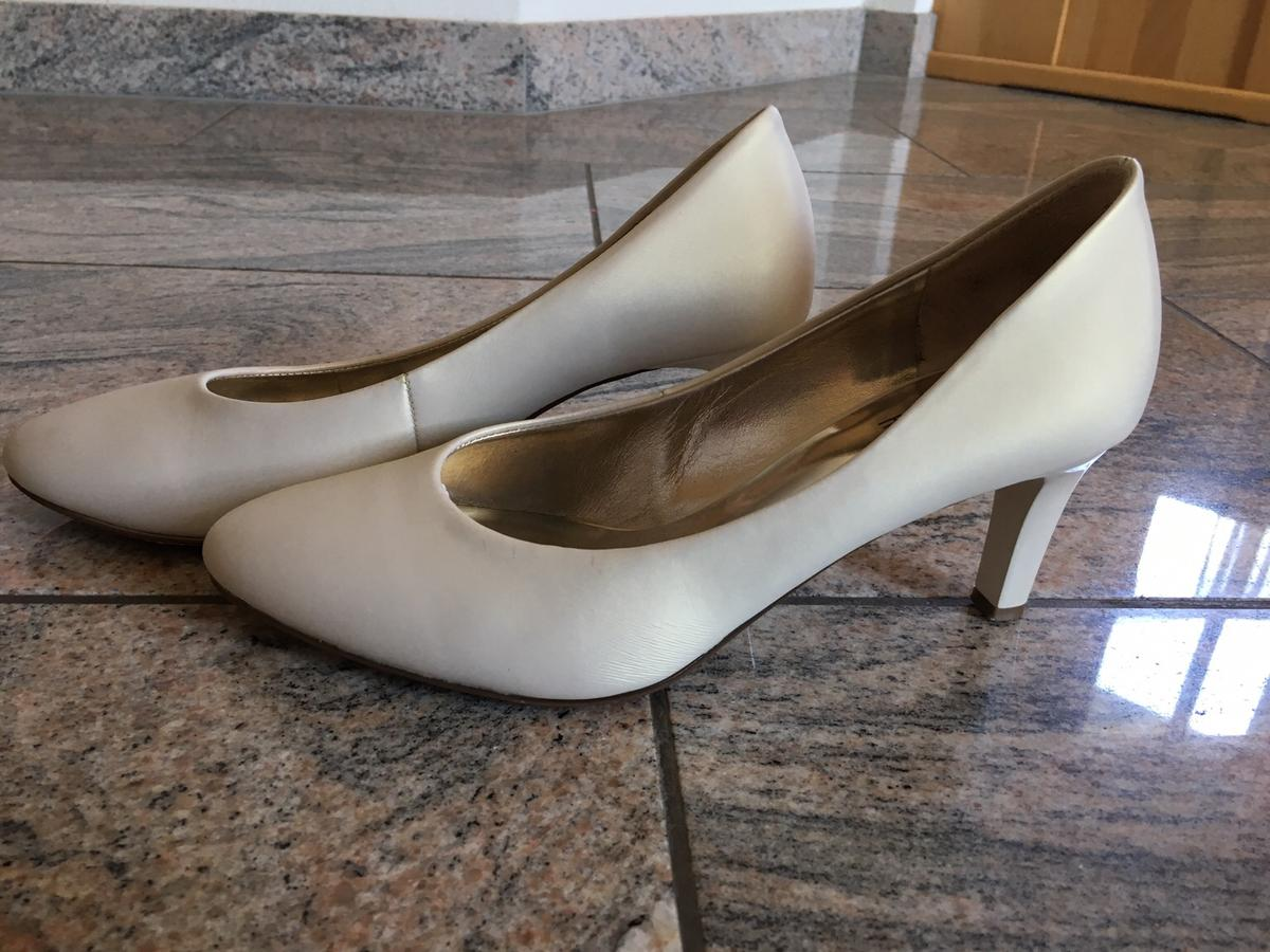 buy popular 19d4b 8dc5b Högl Brautschuh ivory 4 1/2 in 5211 Lengau for €50.00 for ...